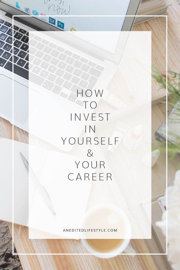how to invest in yourself and your career pinterest