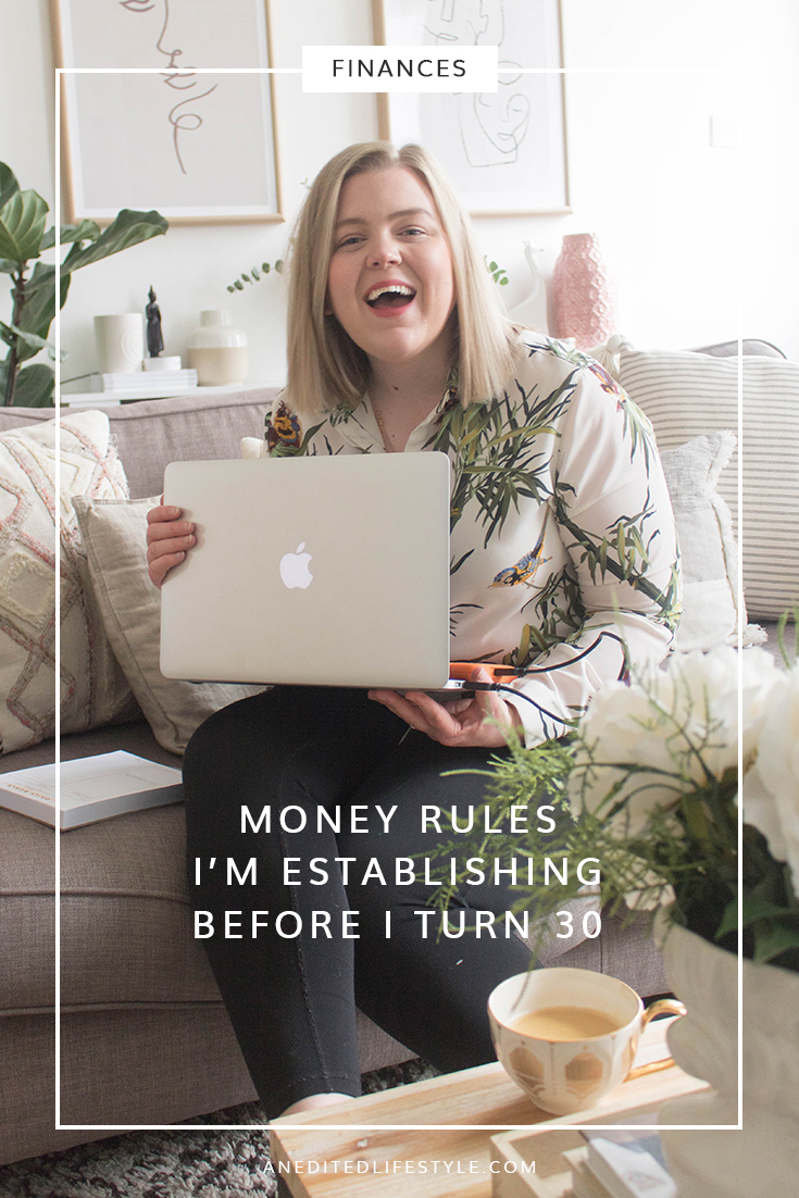 money rules i'm establishing before i turn 30 pinterest