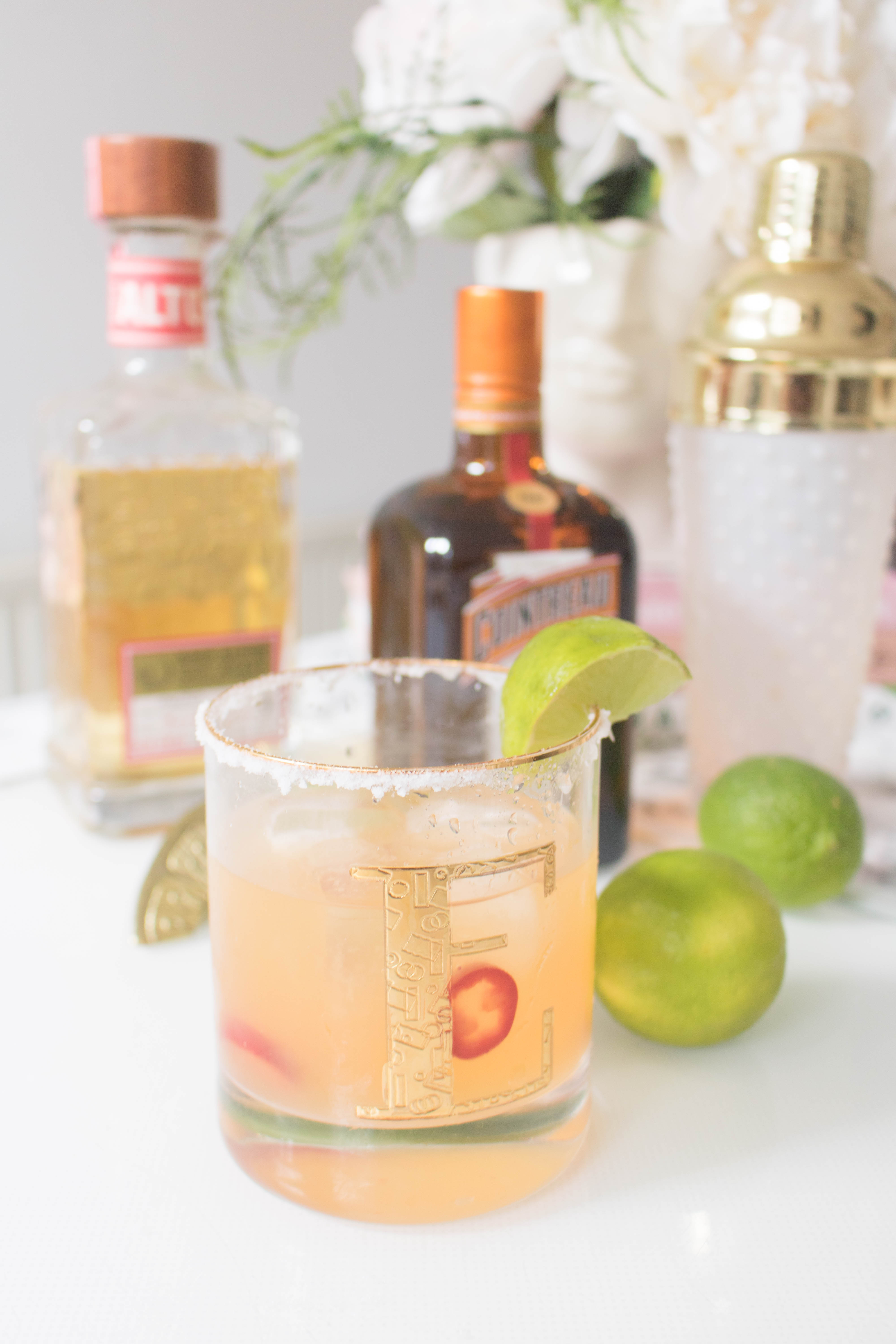 an edited lifestyle spicy margarita