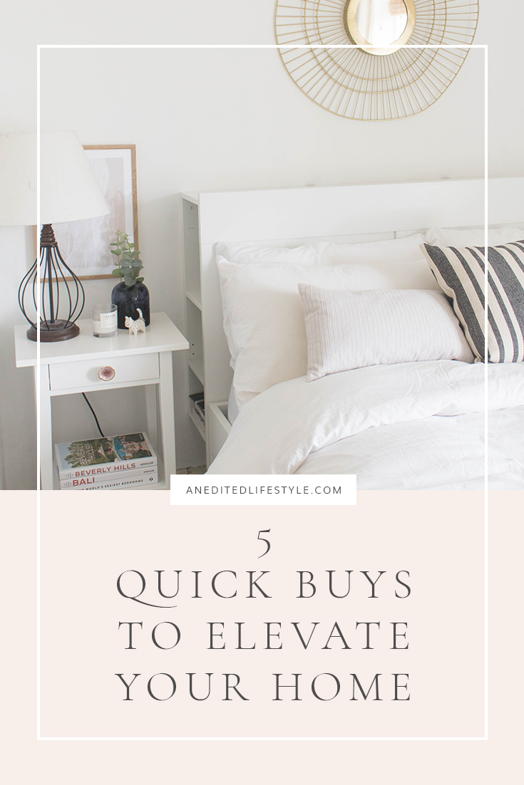 an edited lifestyle quick buys to elevate your home pinterest