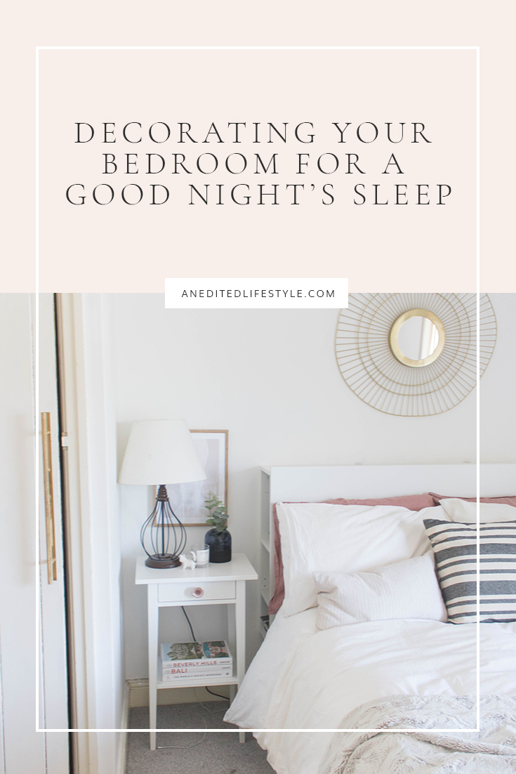 an edited lifestyle decorating your bedroom pinterest