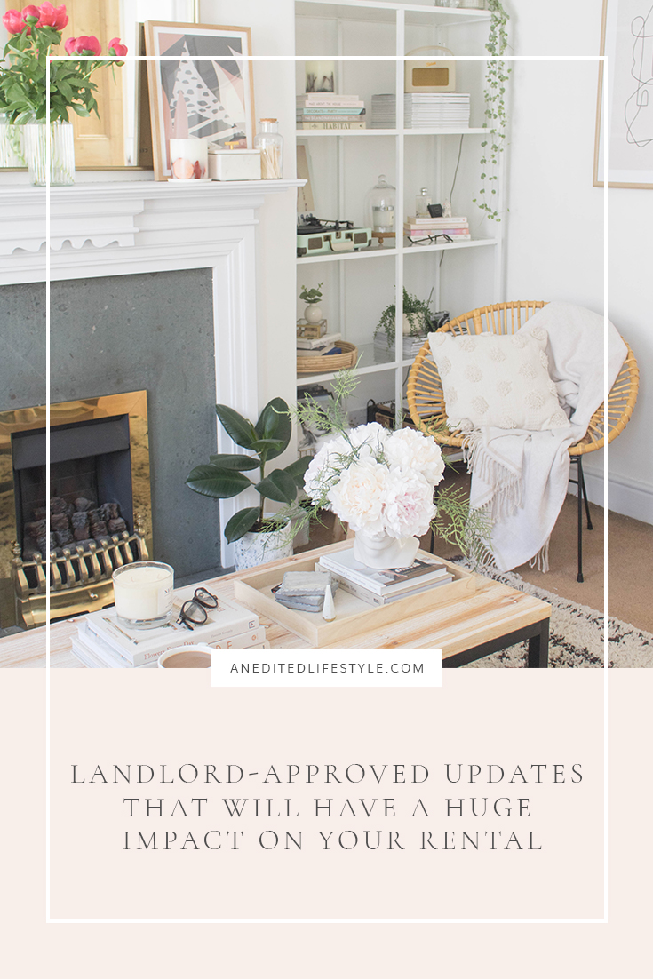an edited lifestyle interiors landlord updates pinterest