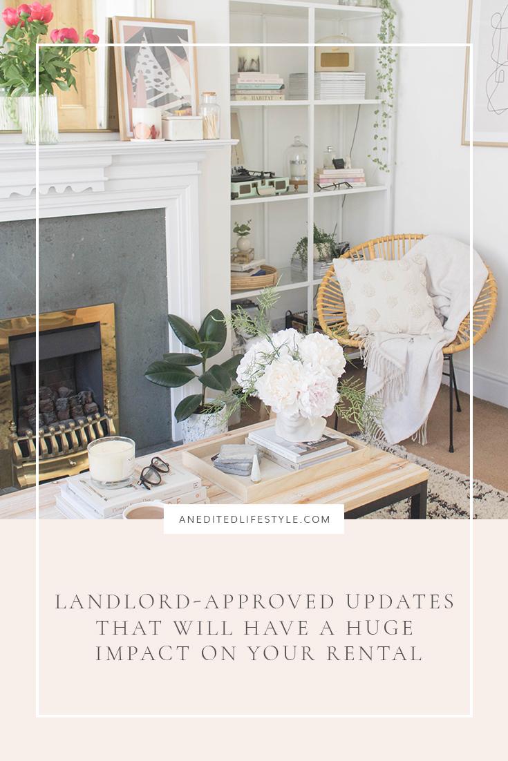 an edited lifestyle interiors landlord updates pinterest