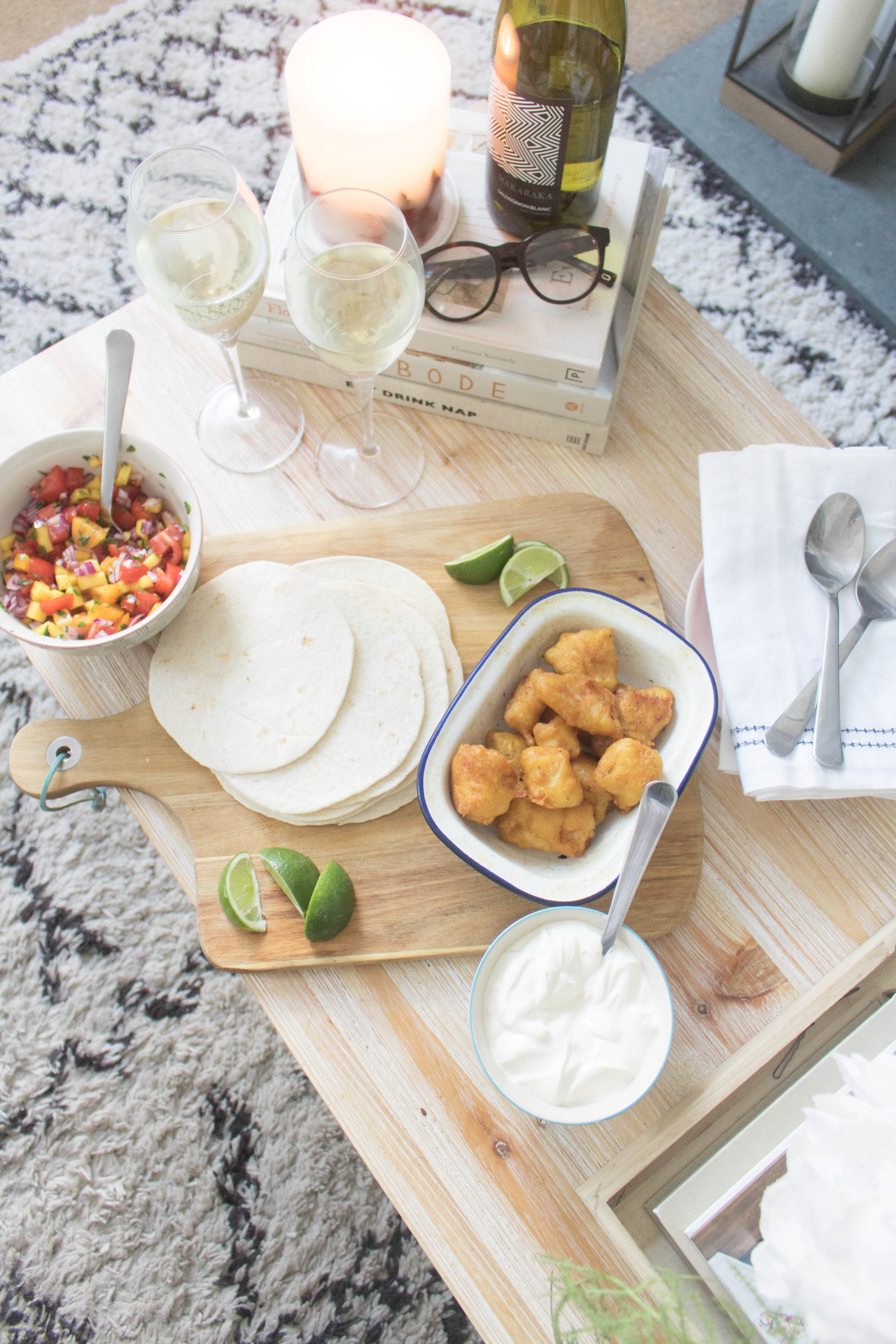 an edited lifestyle entertain date night at home