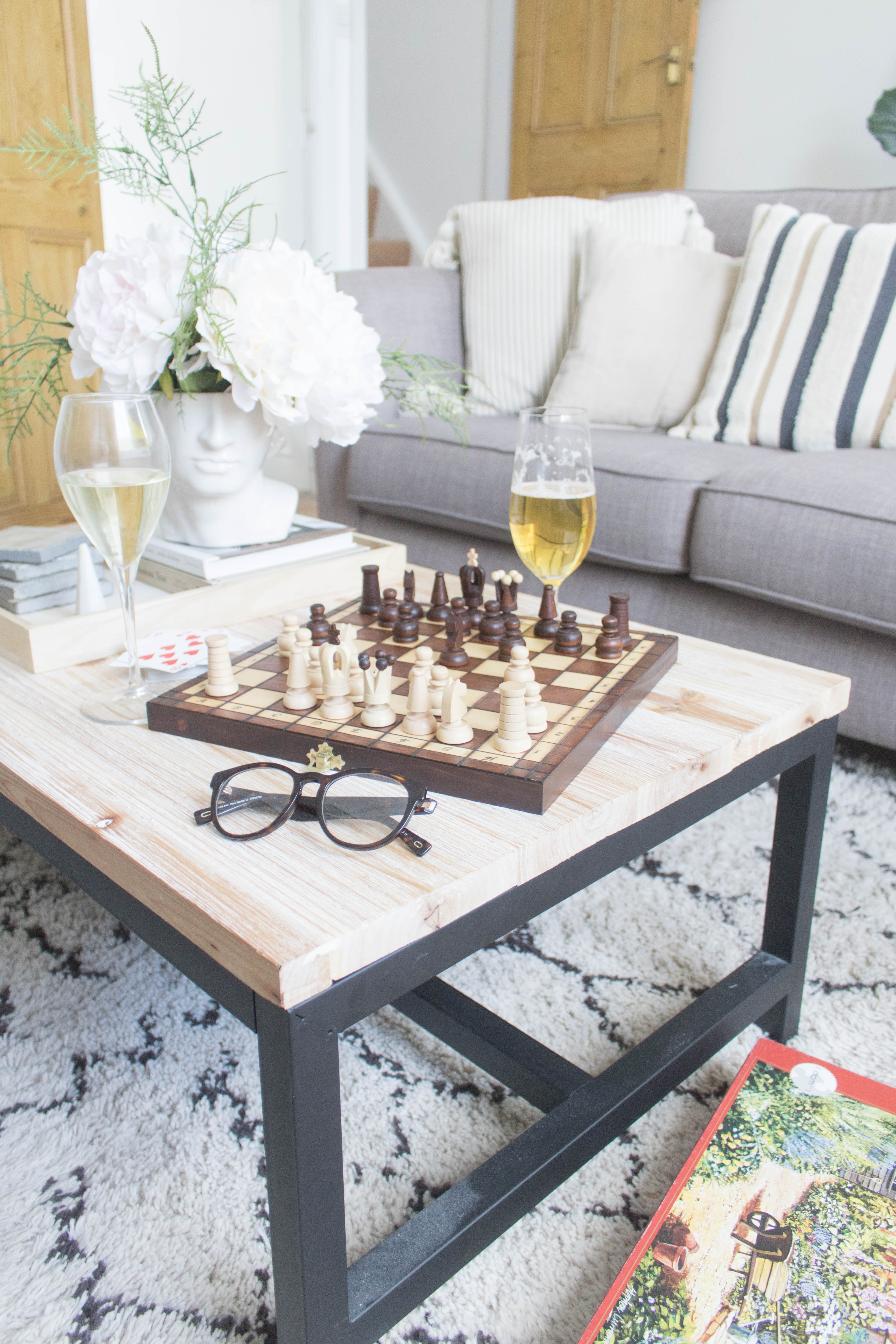 an edited lifestyle game night