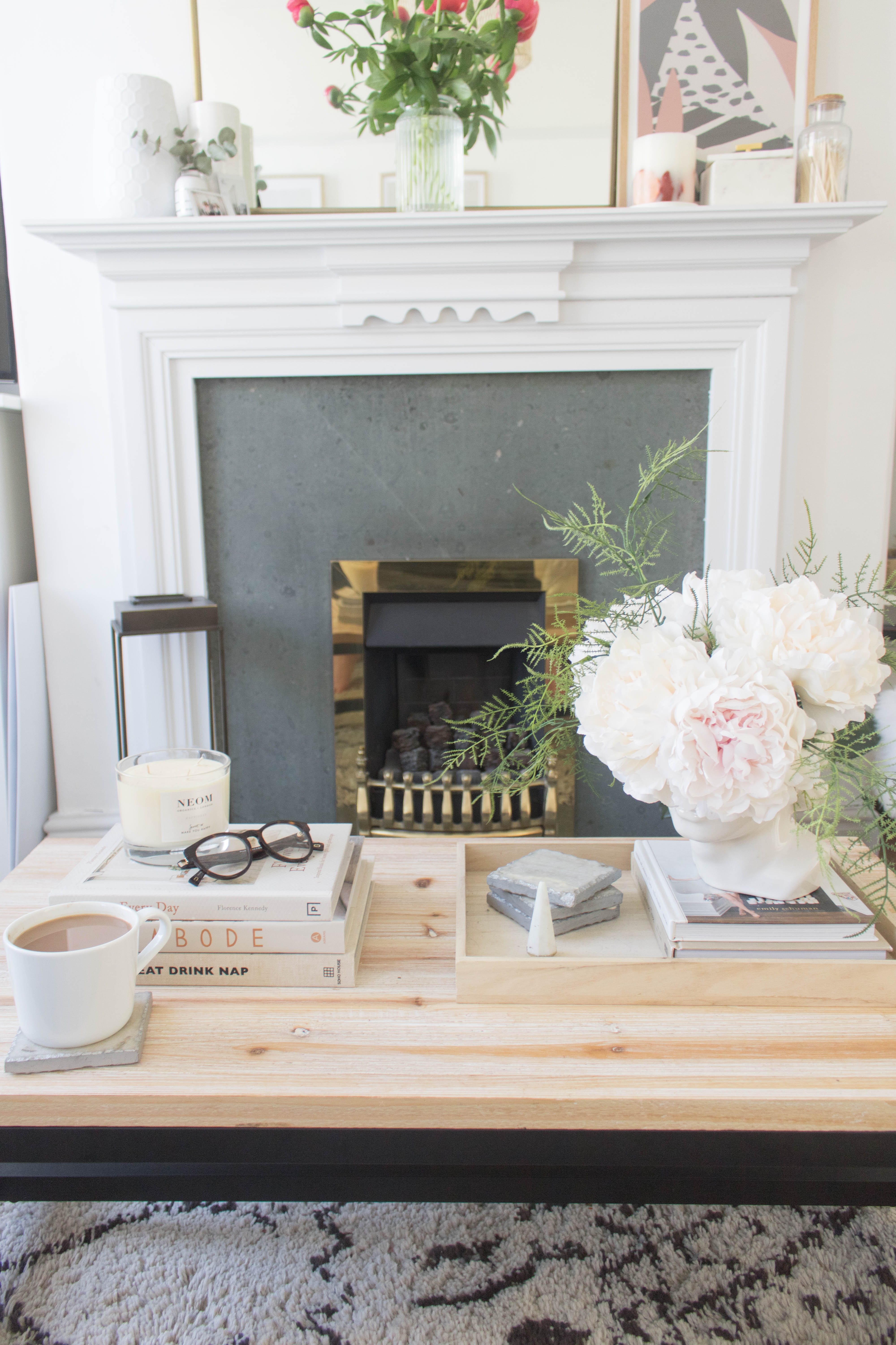 Styling a Coffee Table
