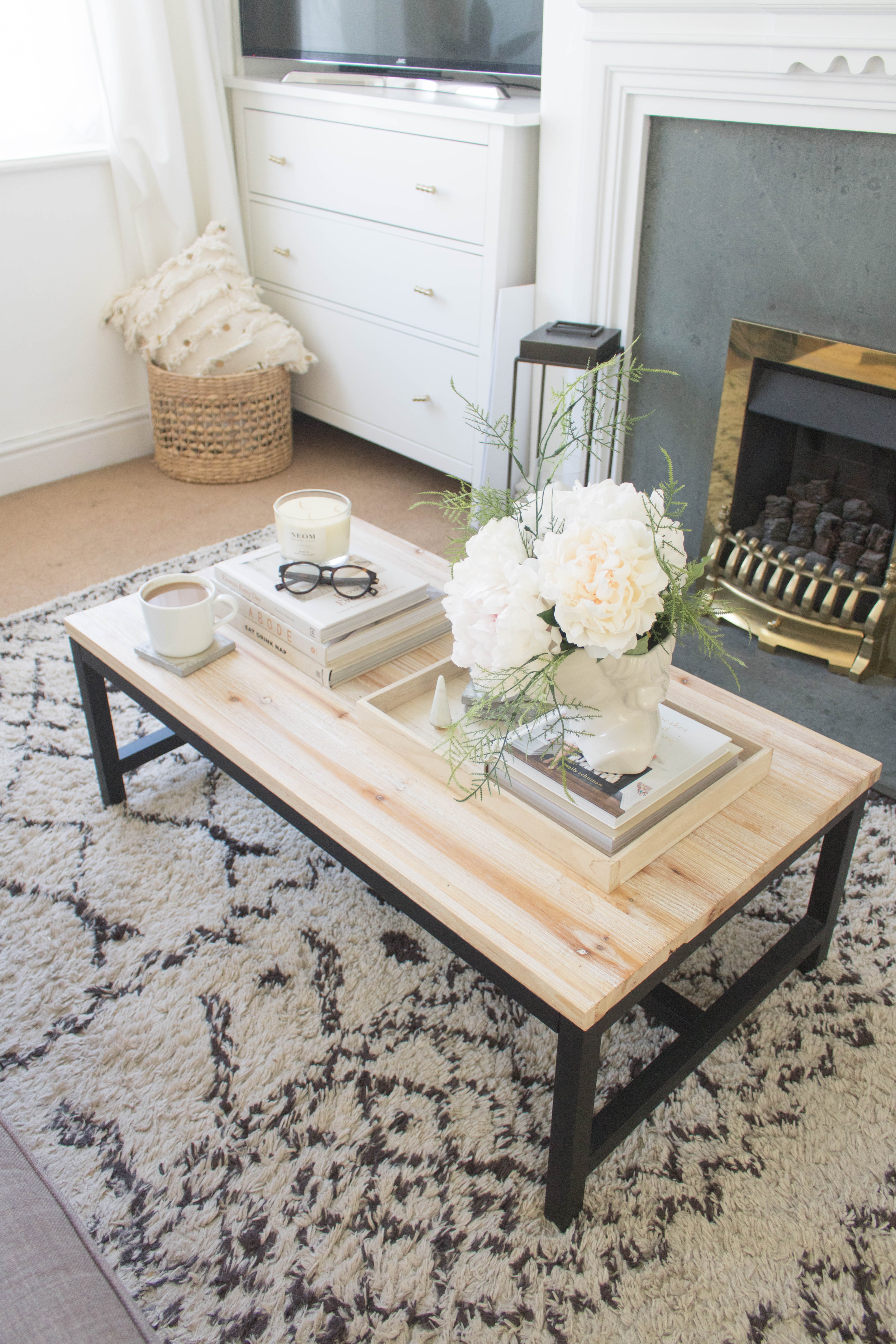 an edited lifestyle decor coffee table styling