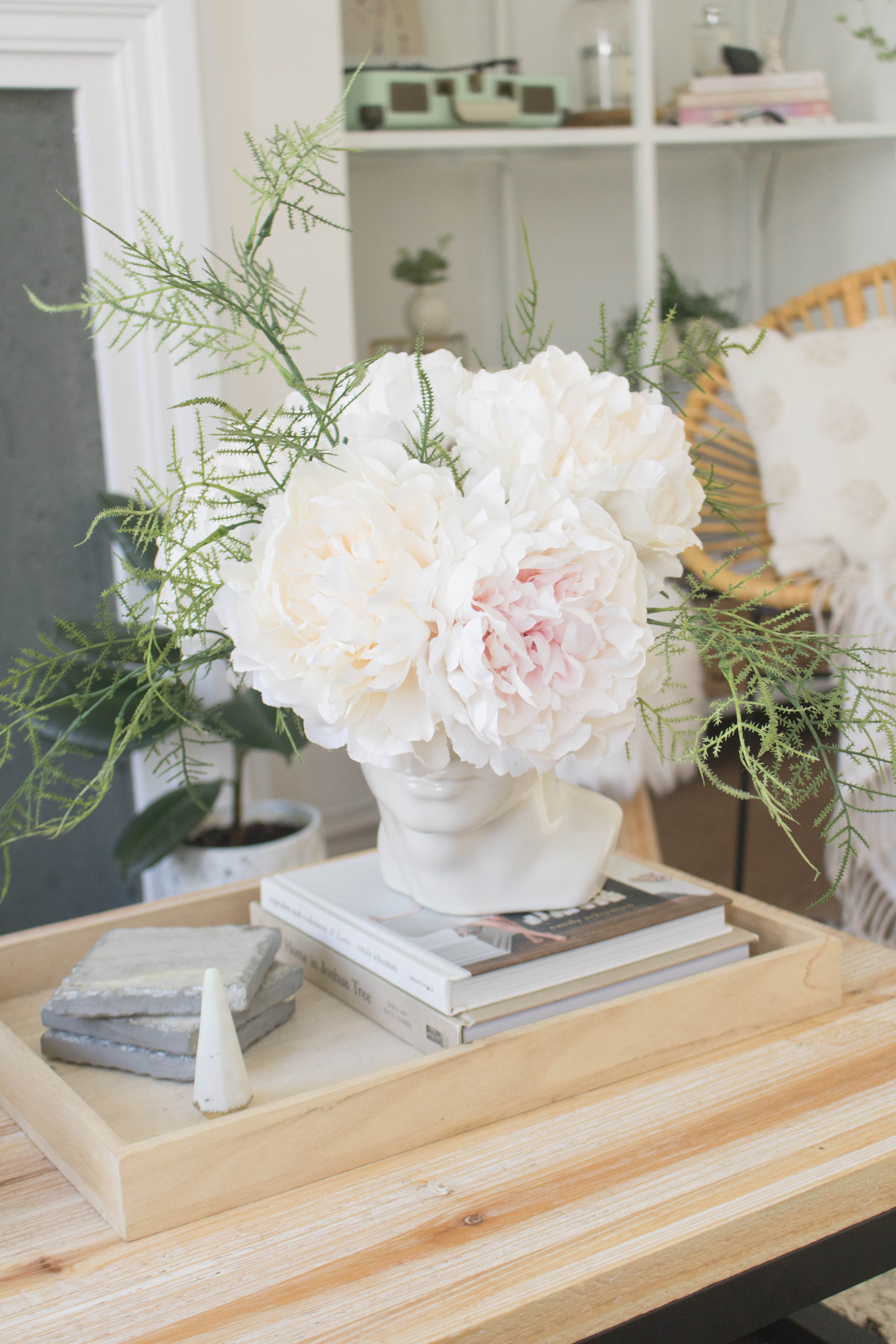an edited lifestyle decor coffee table style