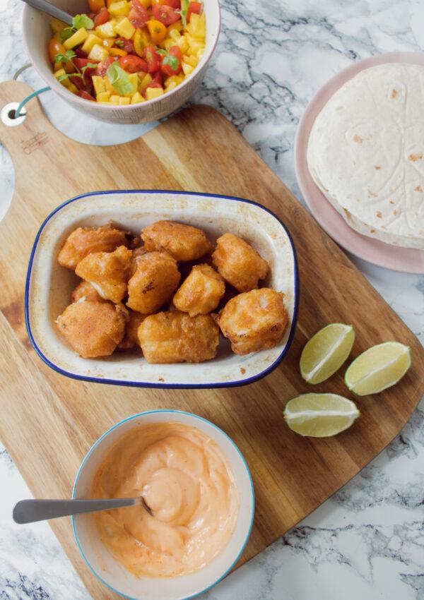 Lee's Crispy Fish Tacos