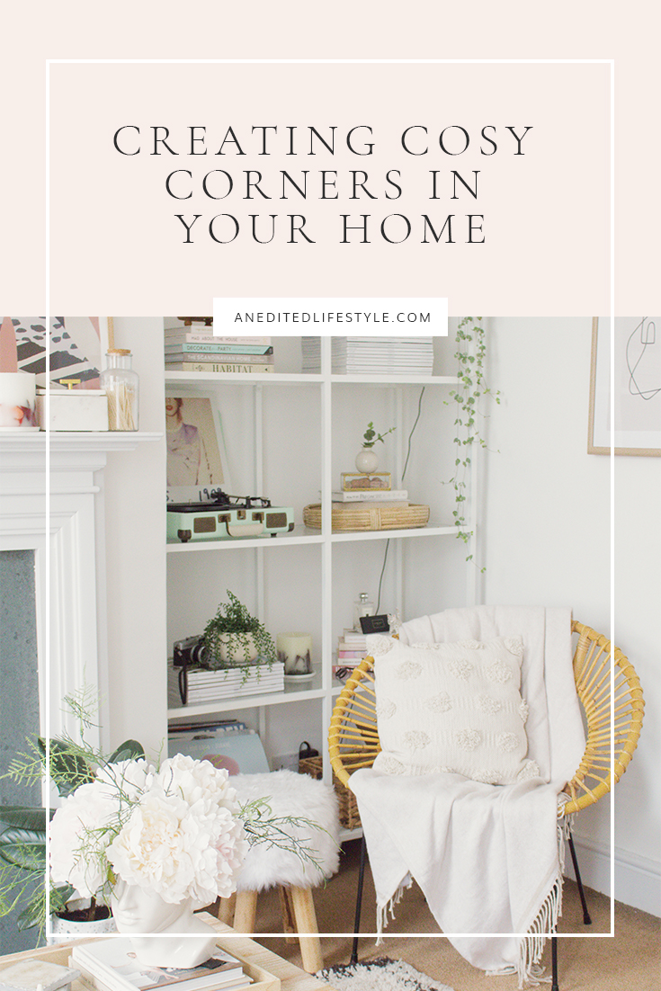 an edited lifestyle cosy corners pinterest