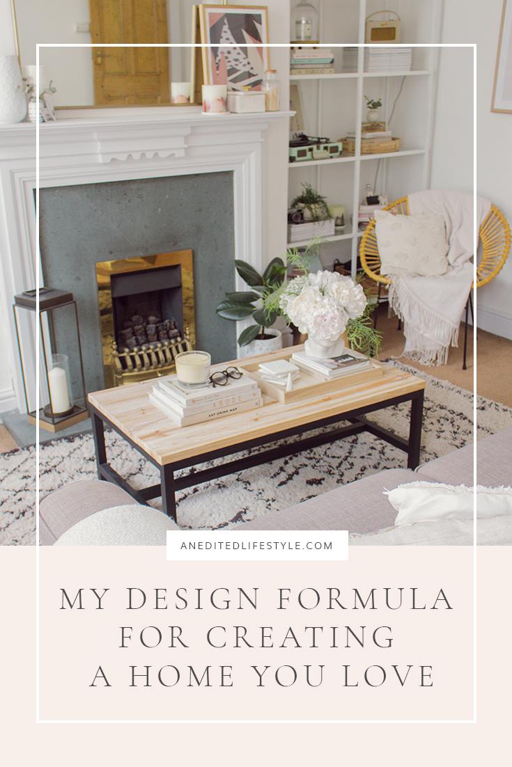 an edited lifestyle design formula pinterest