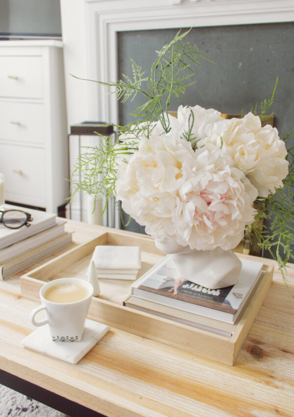an edited lifestyle interiors faux florals