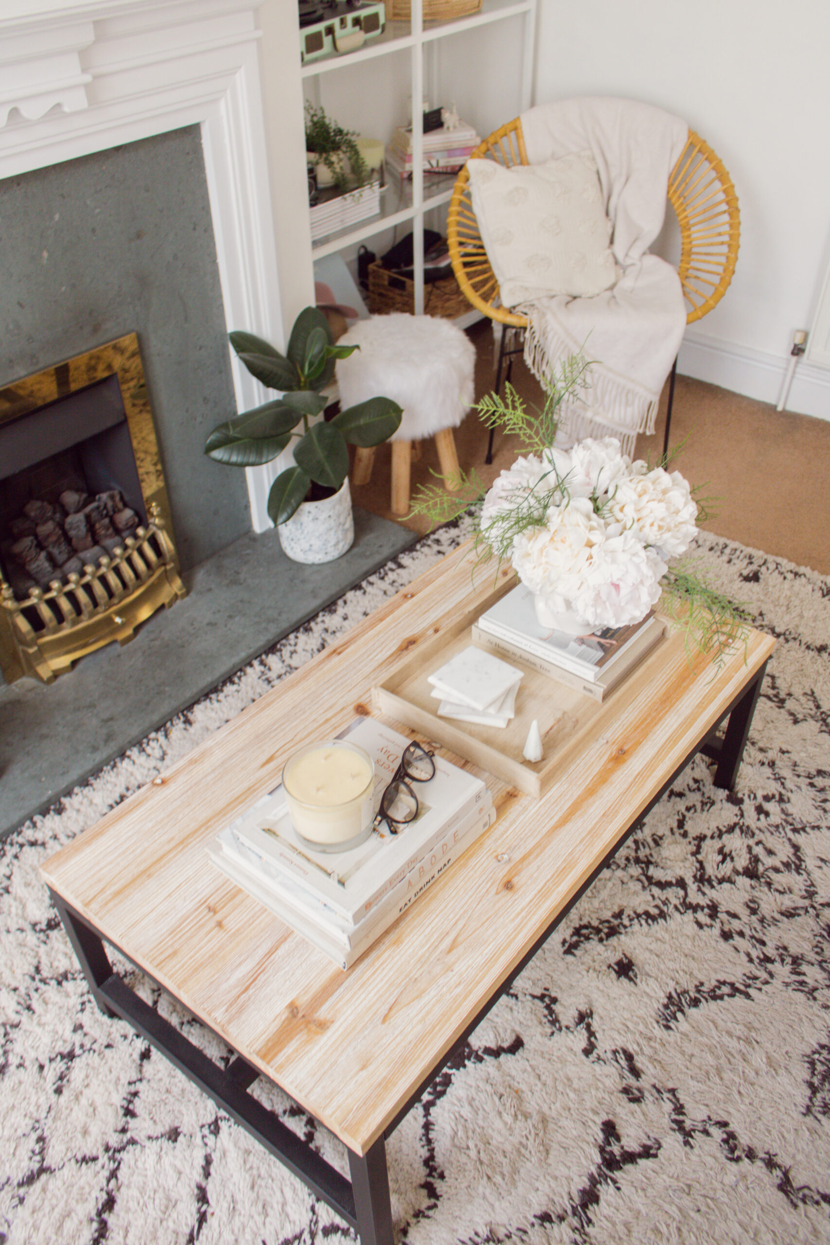 How To Decorate And Cover A Rental Carpet An Edited Lifestyle