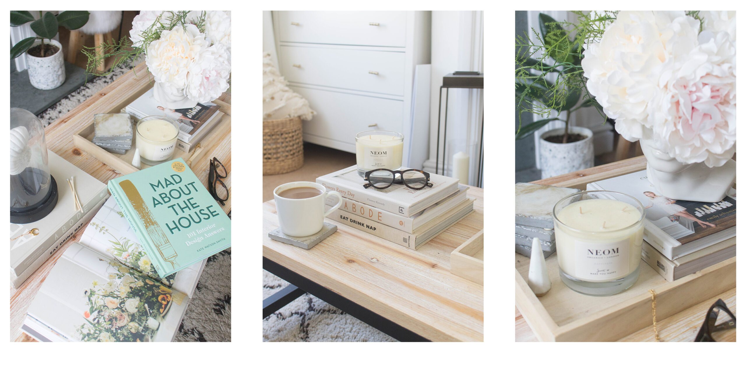 an edited lifestyle shop coffee table books