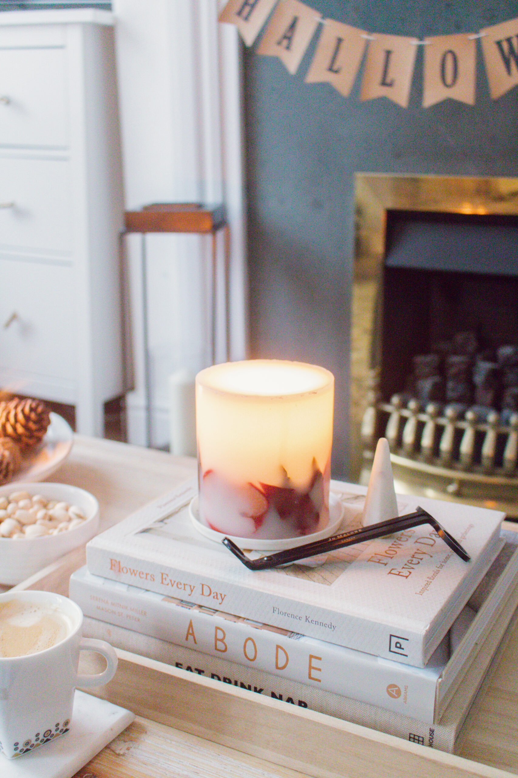 an edited lifestyle interiors fall candles