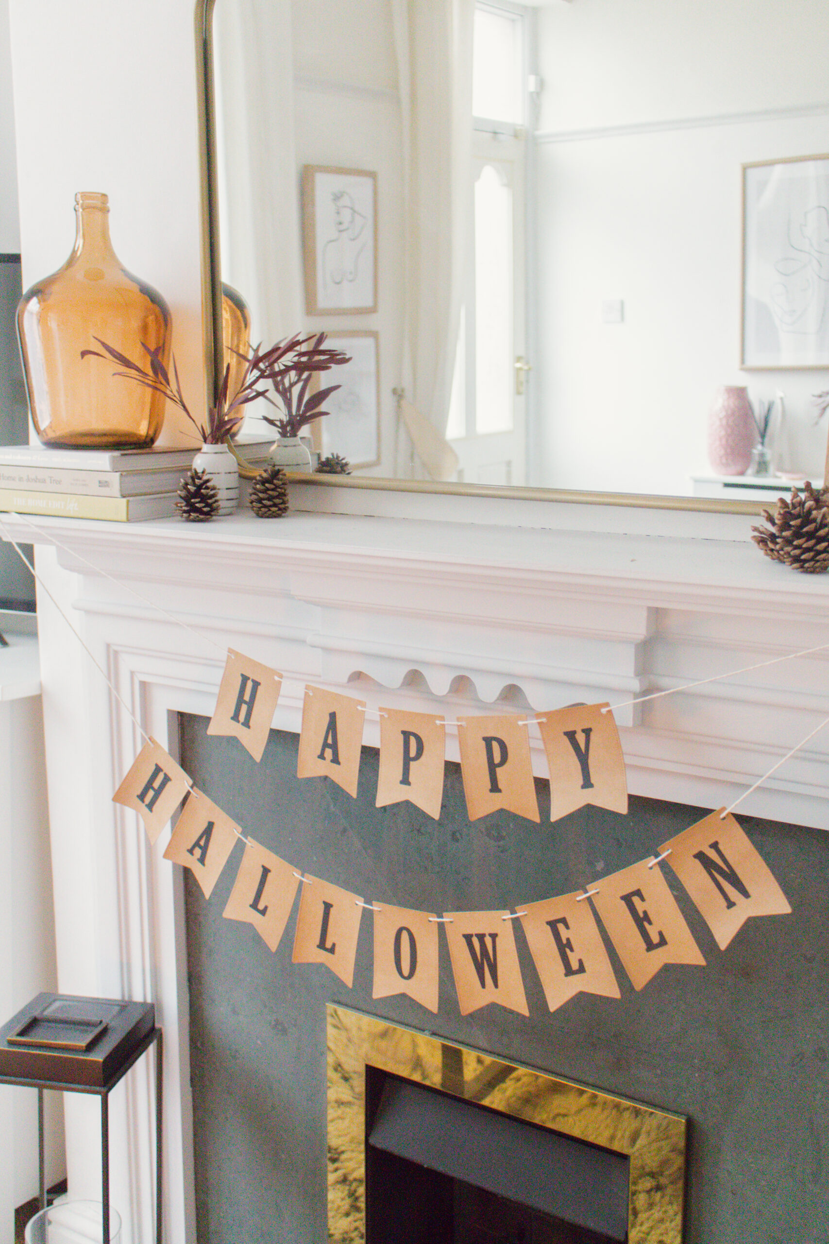 an edited lifestyle interiors fireplace for autumn