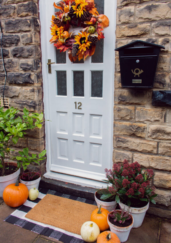 an edited lifestyle interiors fall porch scape