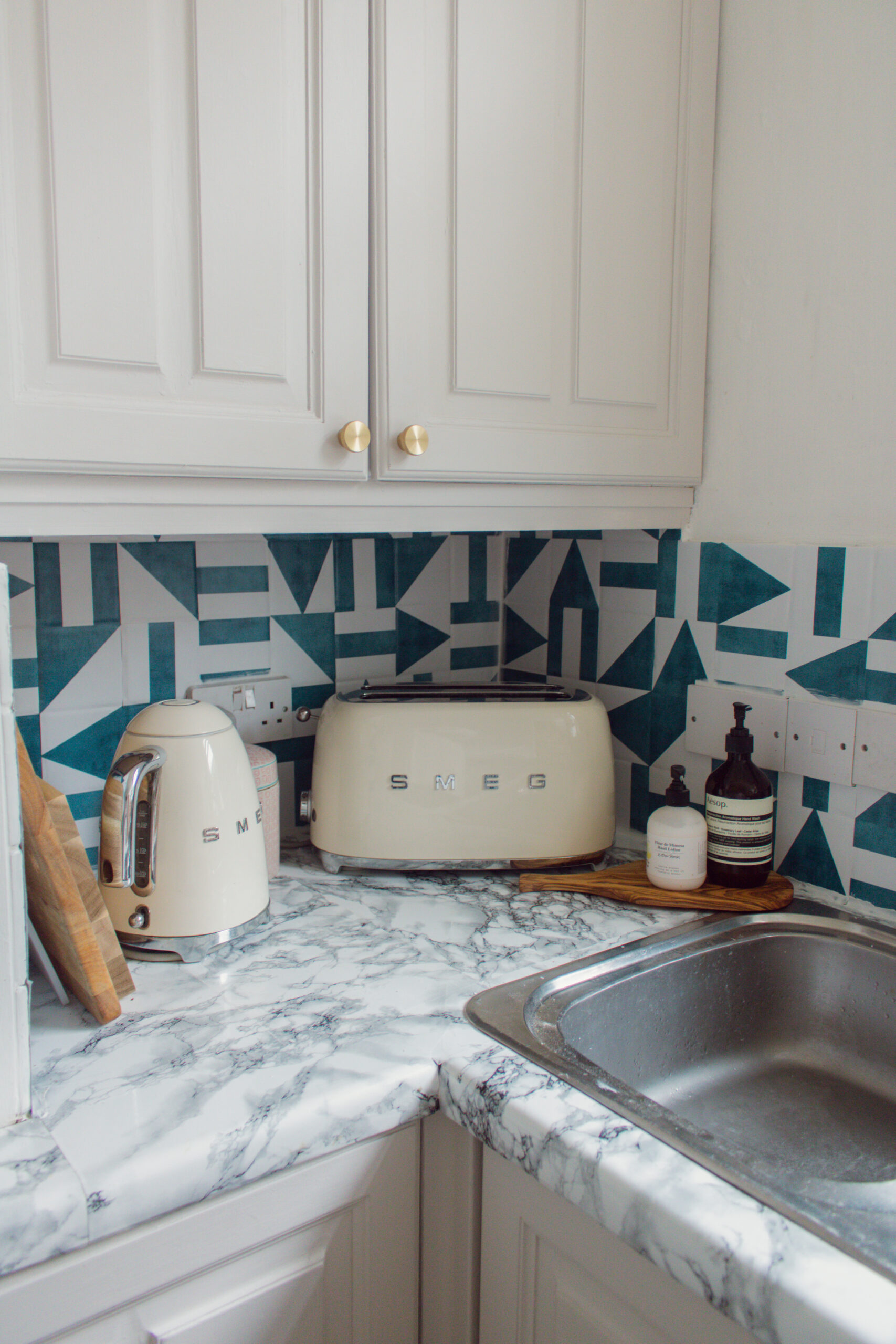 an edited lifestyle interiors rental kitchen remodel