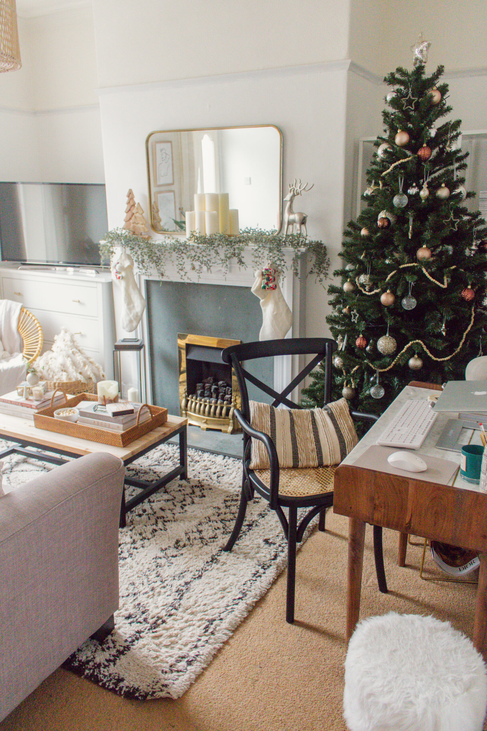 an edited lifestyle holidays christmas home decor