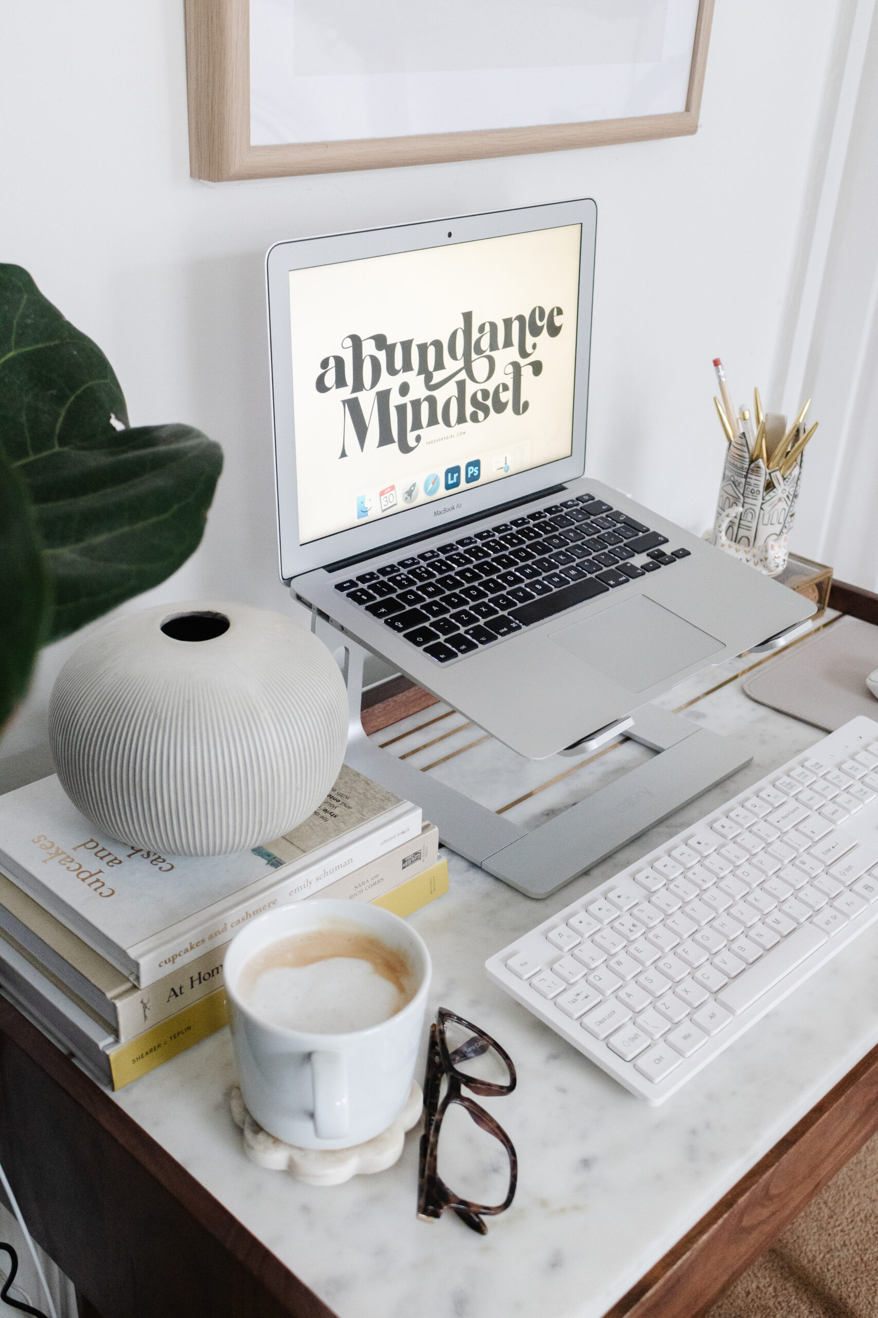 an edited lifestyle interiors chic home office