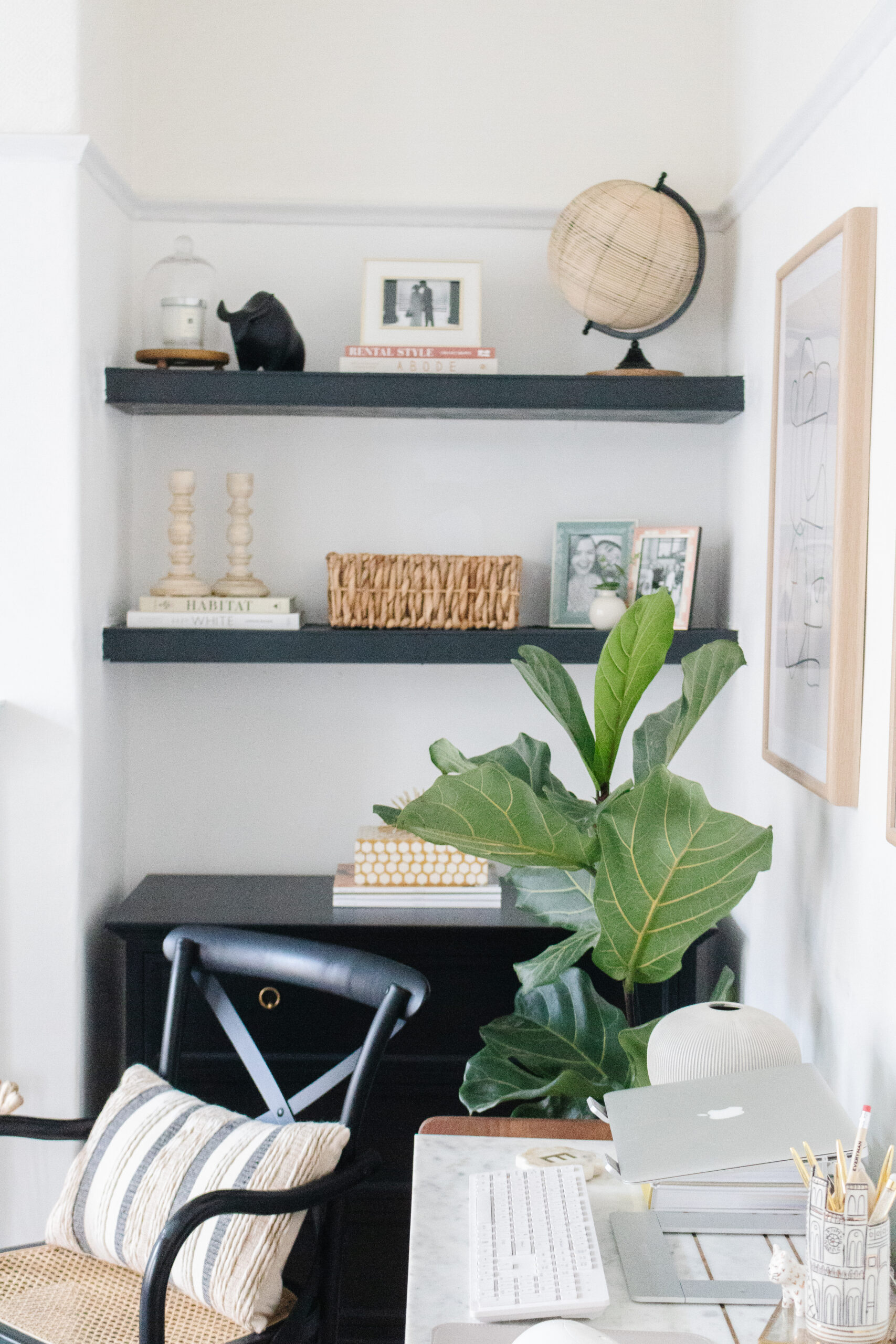 an edited lifestyle interiors rental makeover