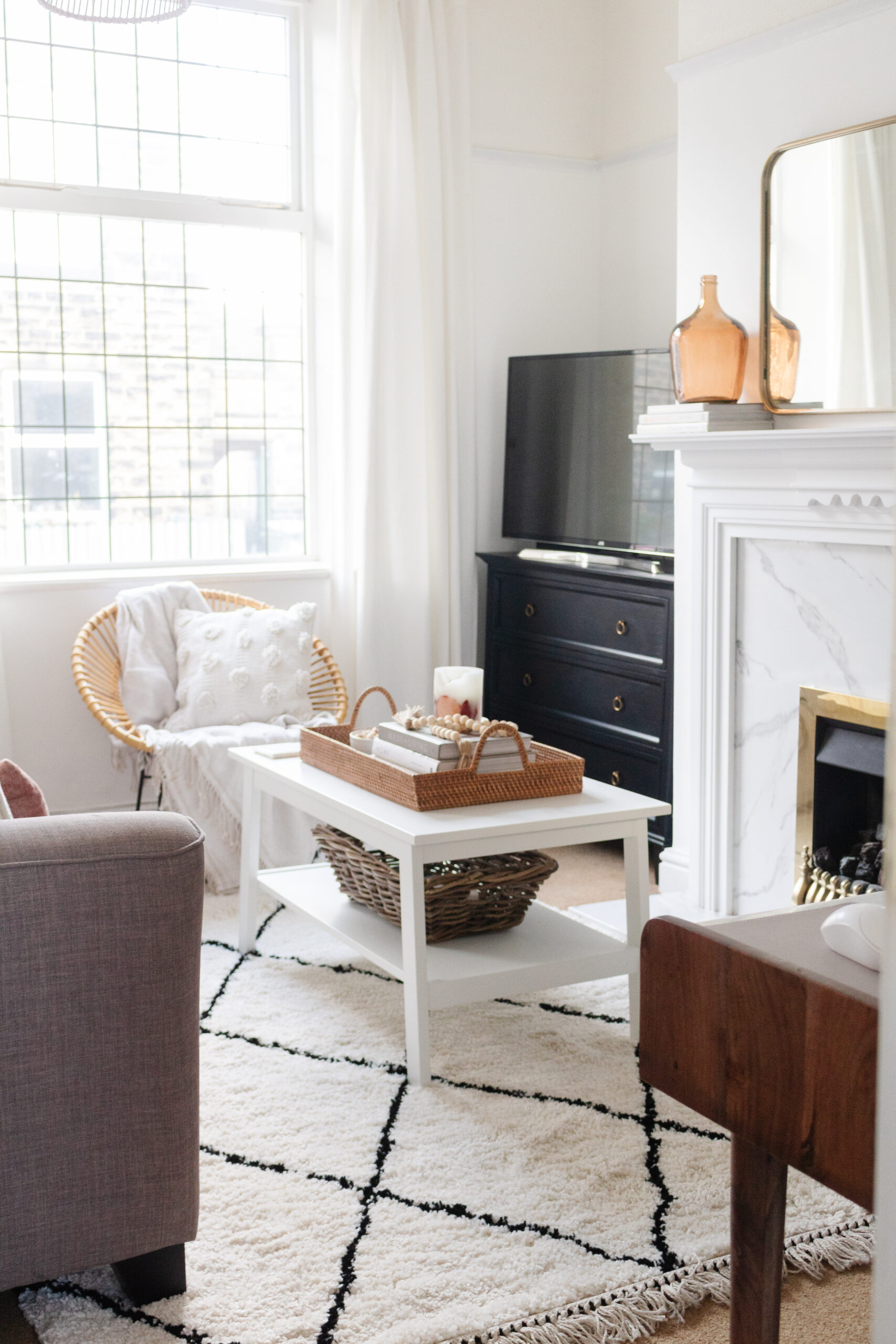 an edited lifestyle interiors living room makeover