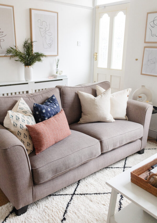 How to Mix & Match Pillow Patterns