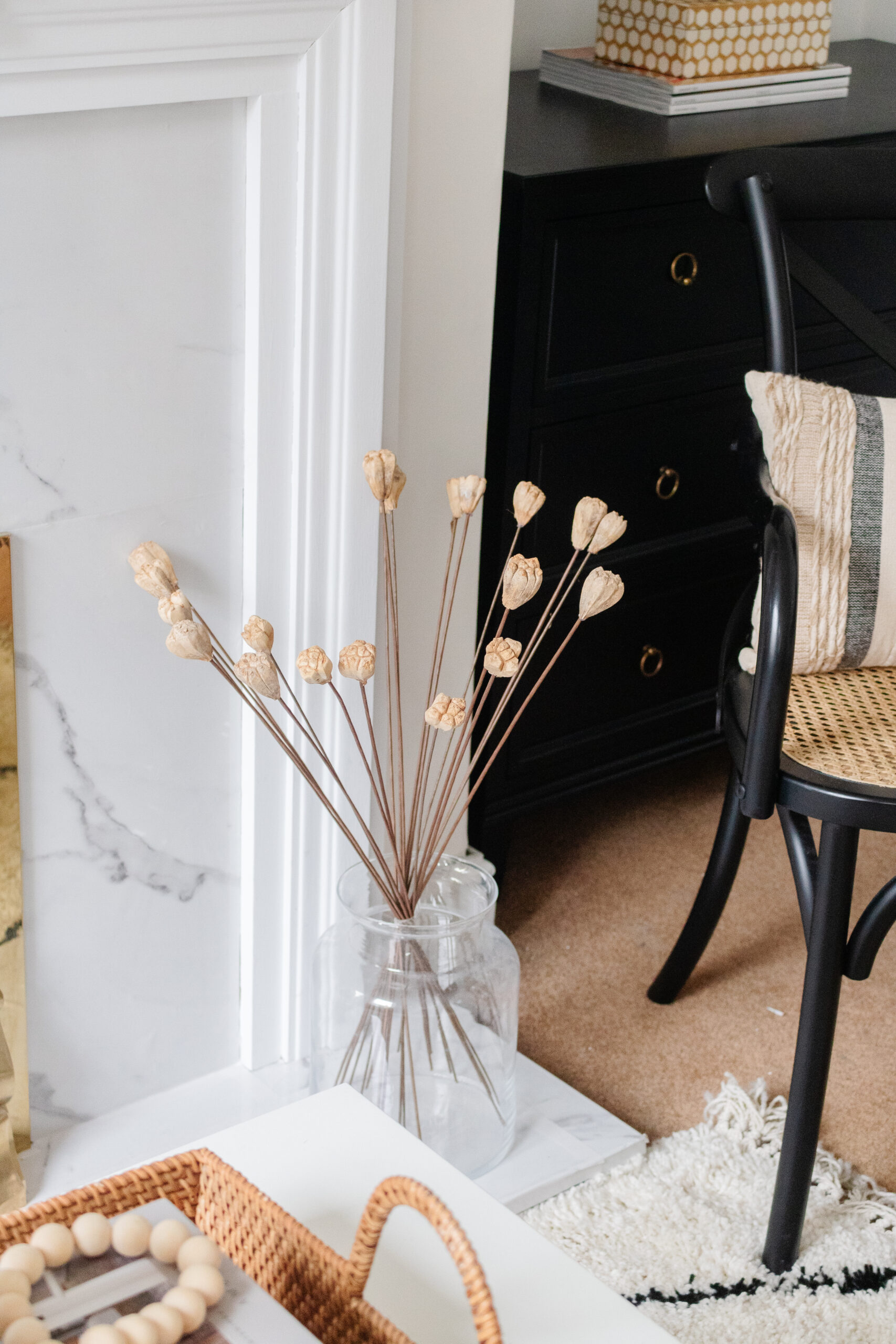 an edited lifestyle interiors diy fireplace makeover