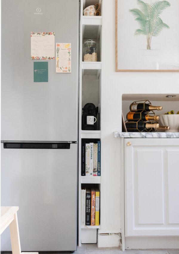 My Kitchen Shelf Styling