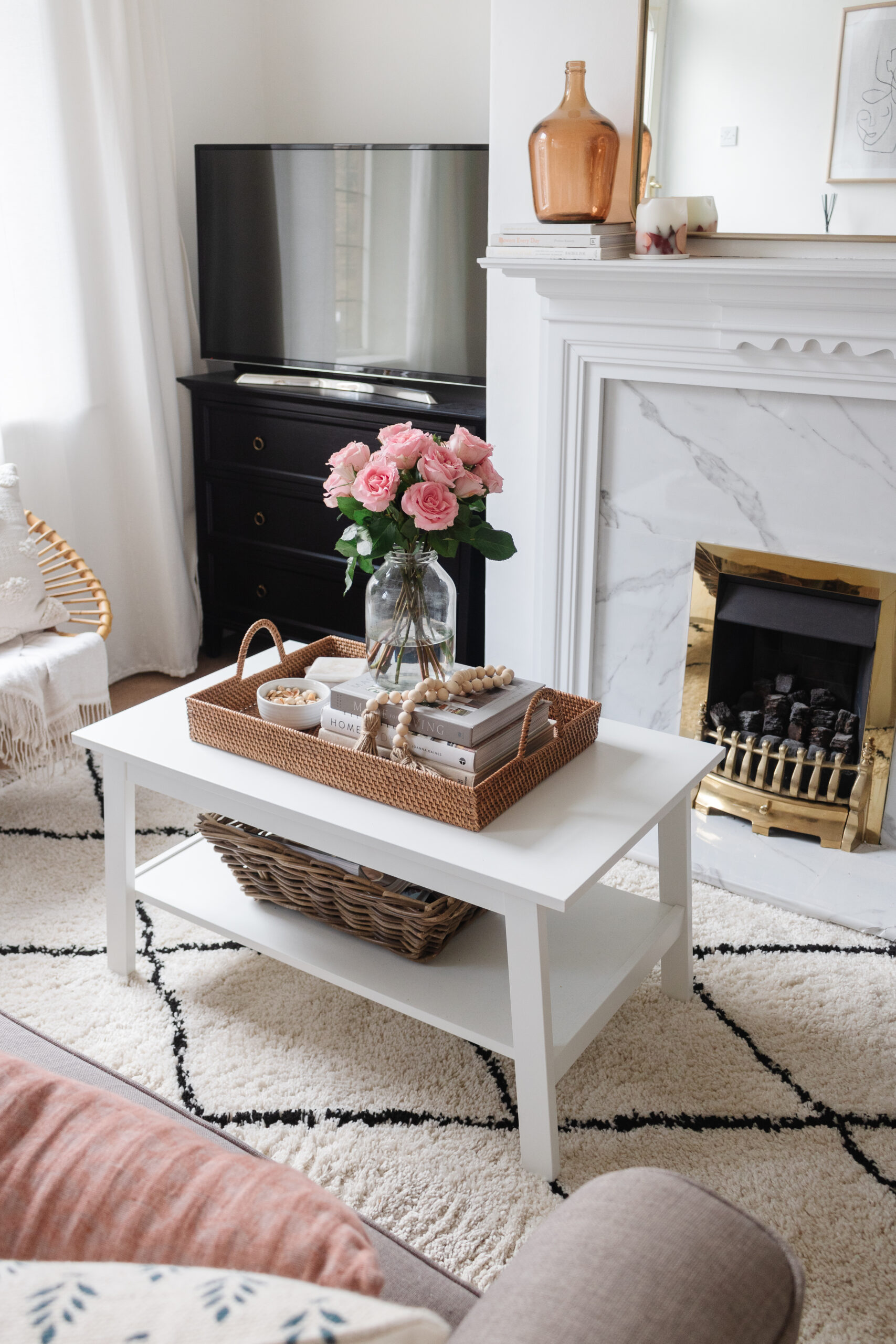 an edited lifestyle interiors style a coffee table
