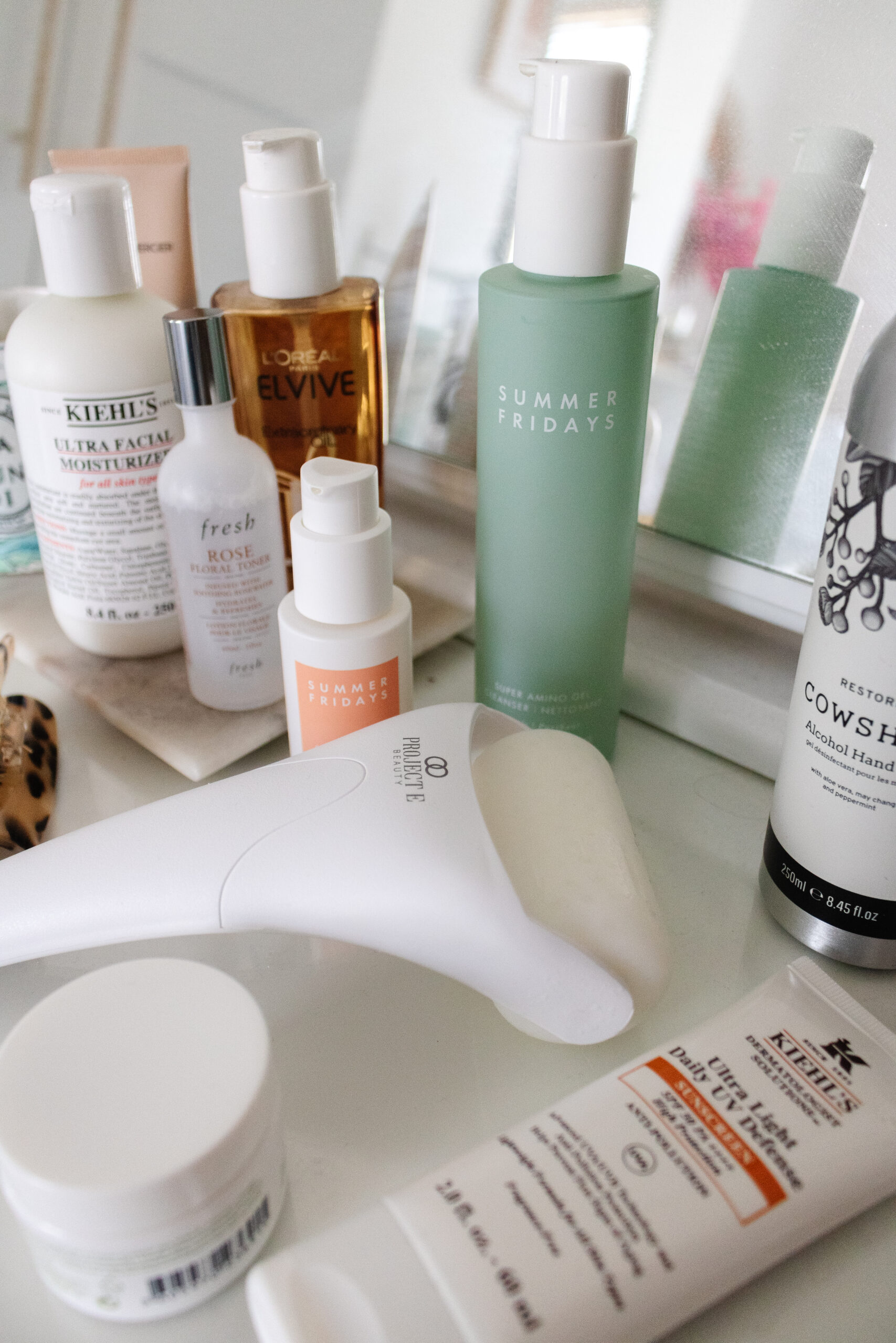 an edited lifestyle beauty morning skincare routine