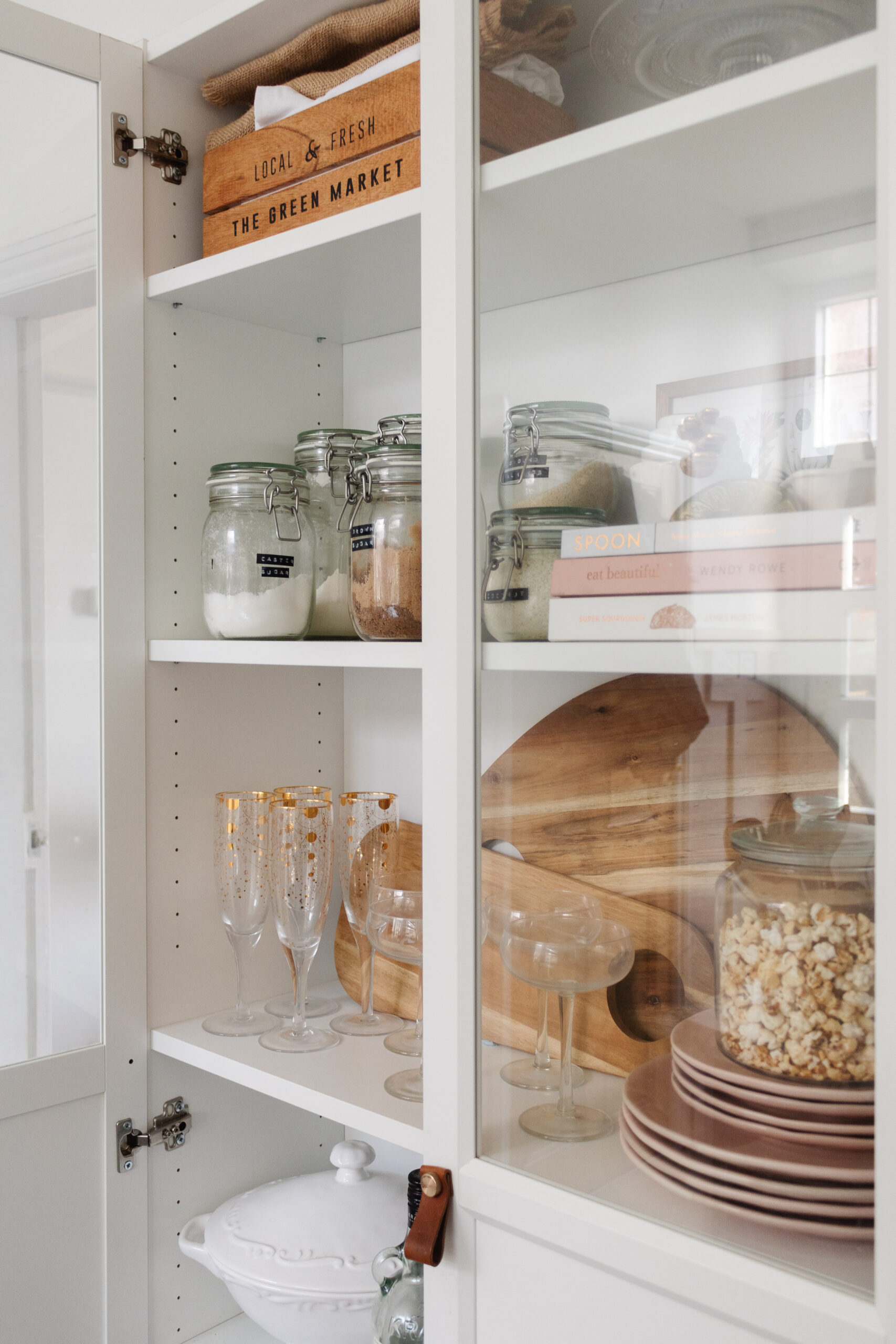 an edited lifestyle interiors styling a small kitchen