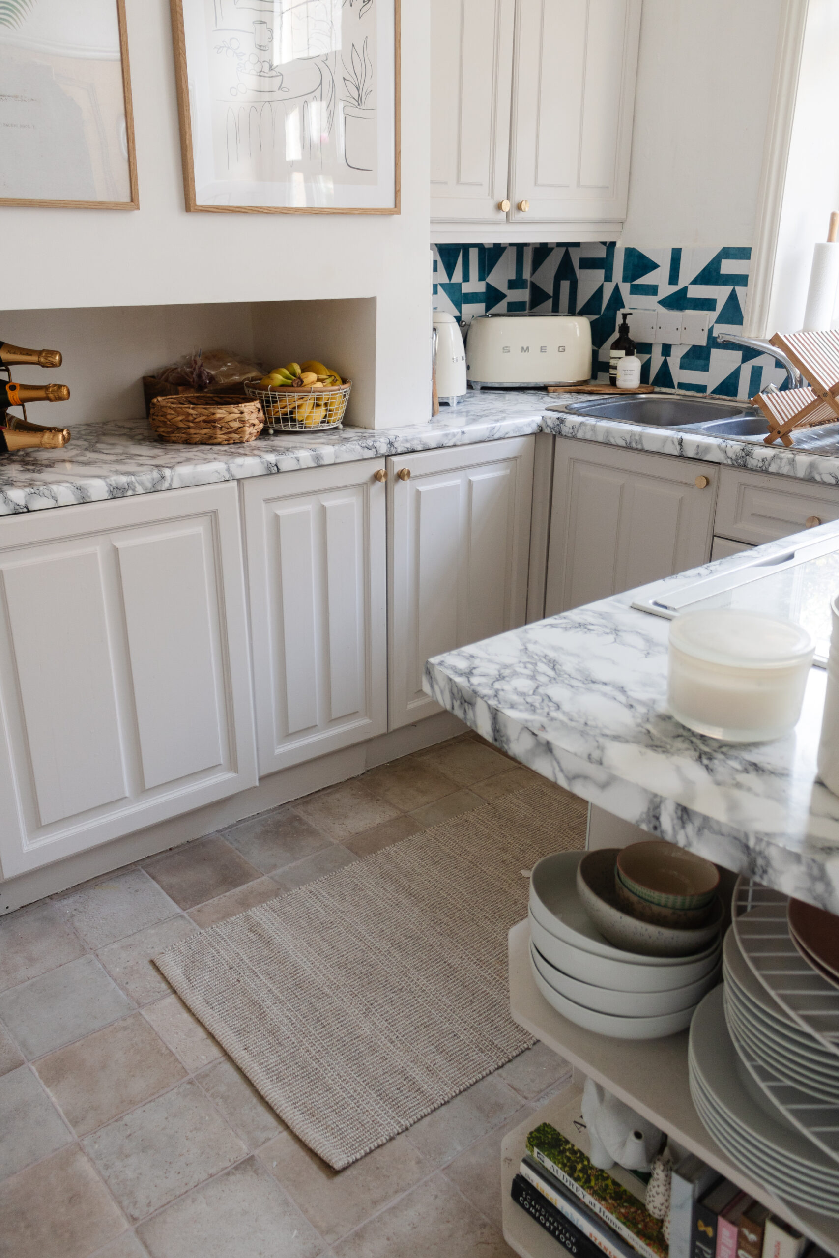 an edited lifestyle interiors decorating a small kitchen