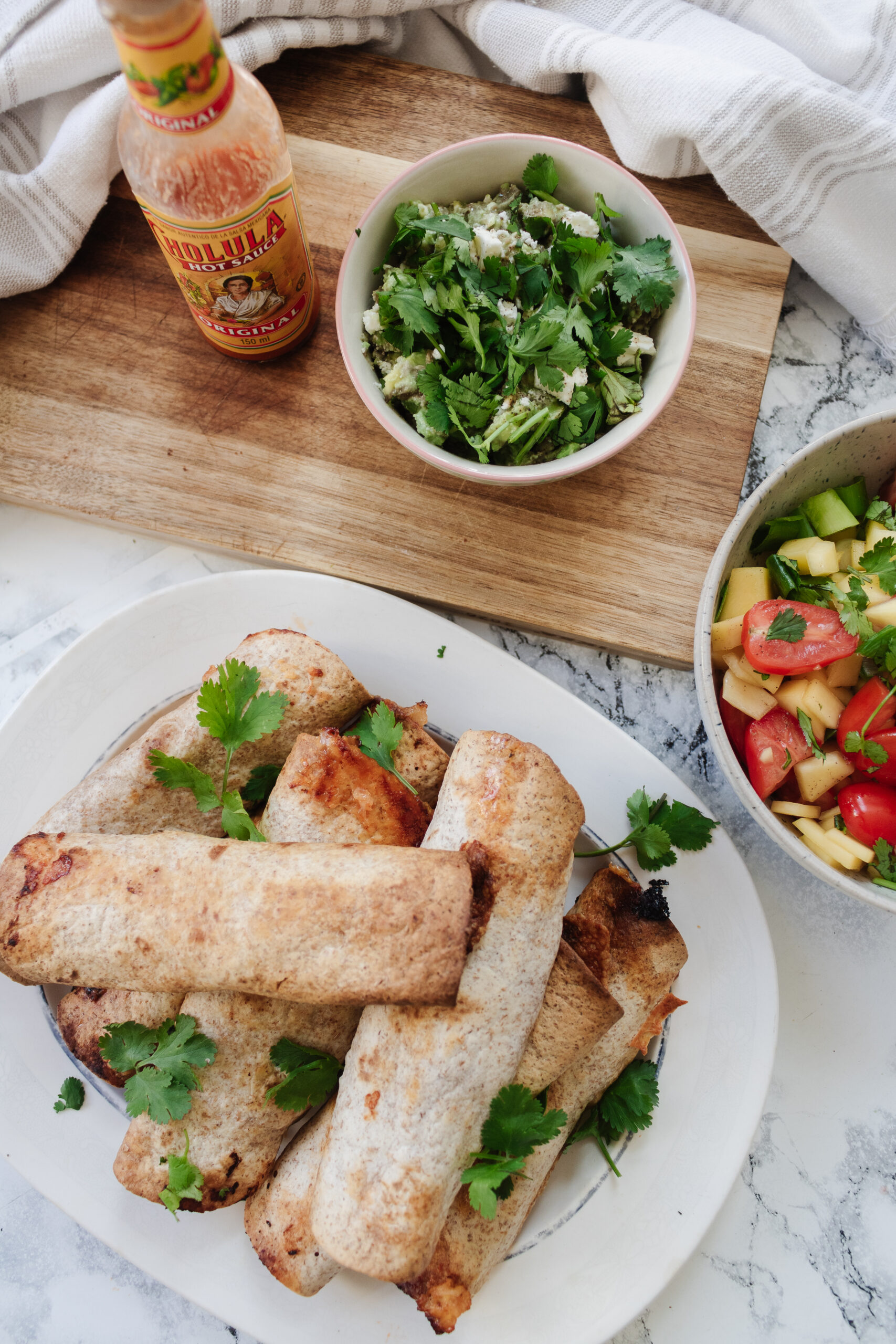 an edited lifestyle recipe crispy chicken taquitos
