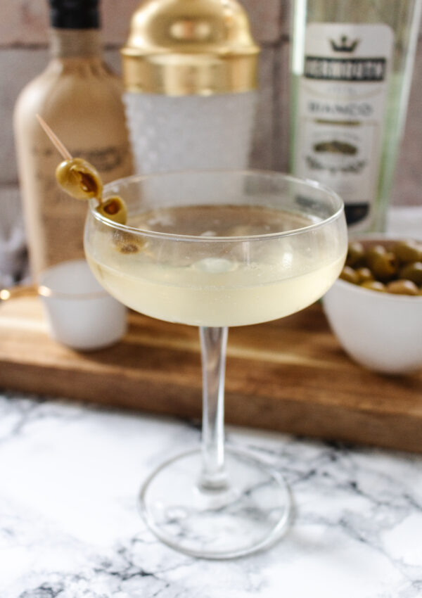 an edited lifestyle recipe dirty martini cocktail
