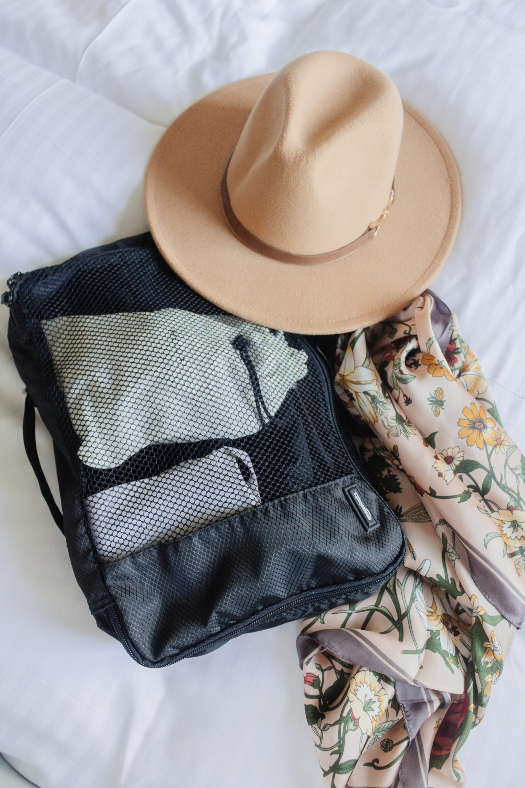 an edited lifestyle travel pack for a weekend road trip