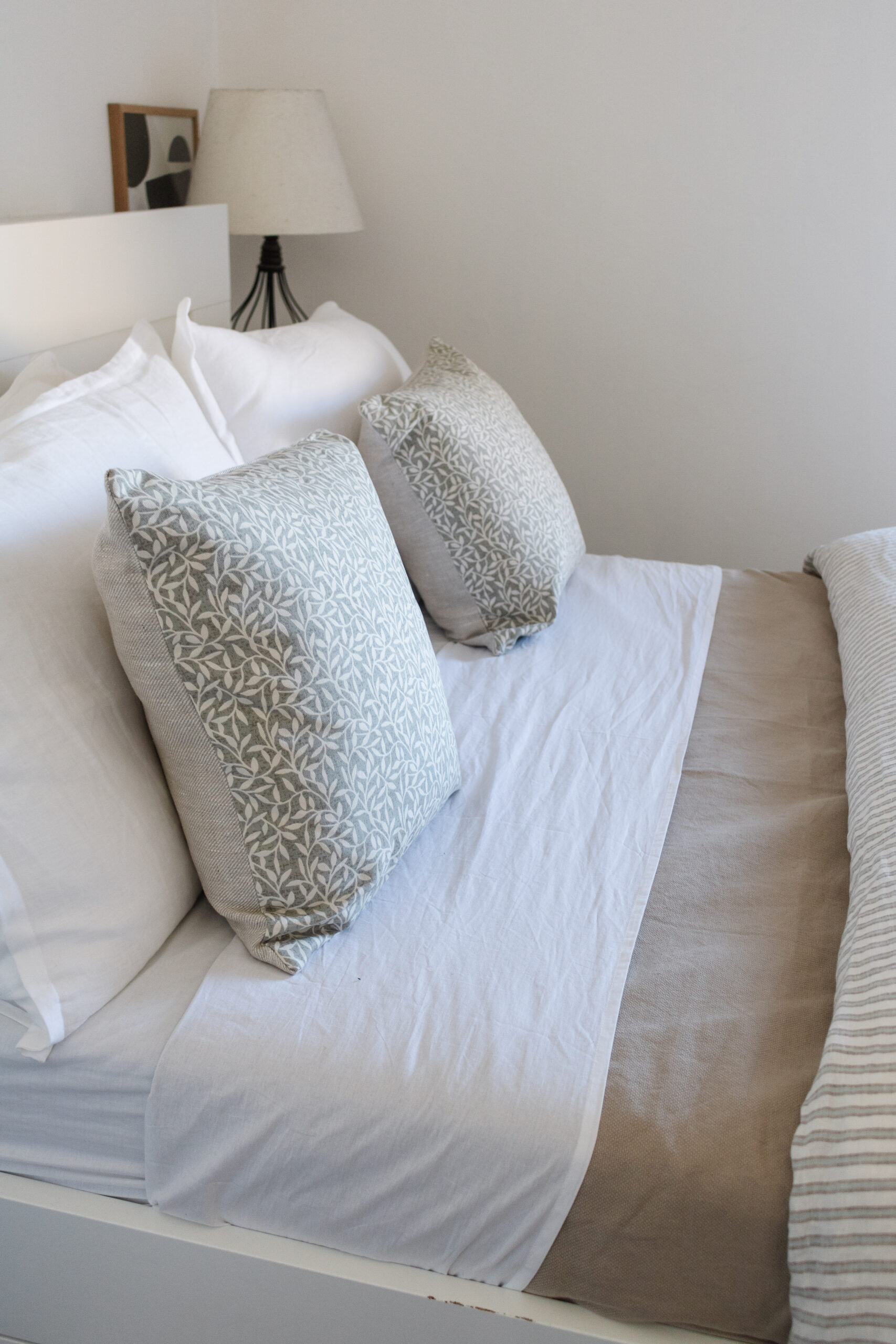 an edited lifestyle interiors styling a bed