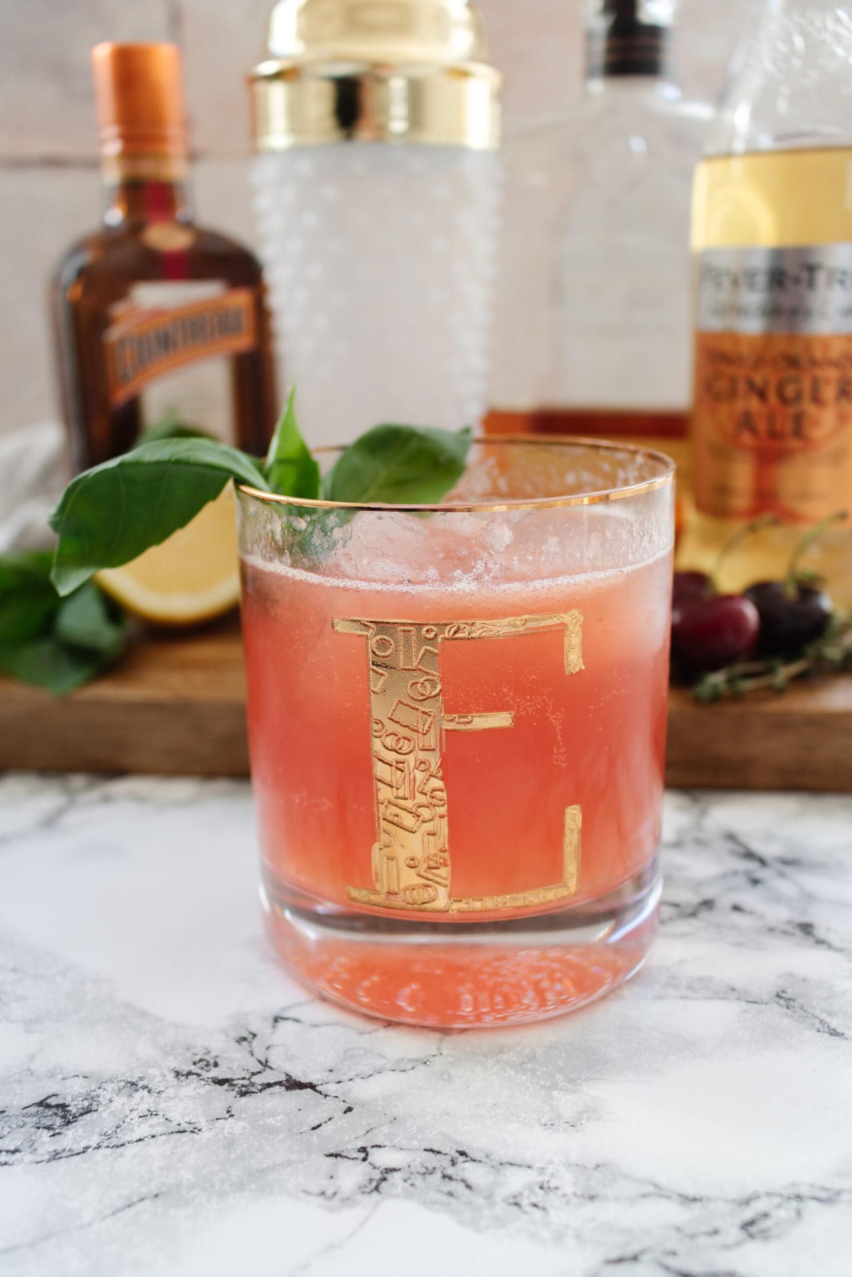 an edited lifestyle cocktails cherry bourbon spritz