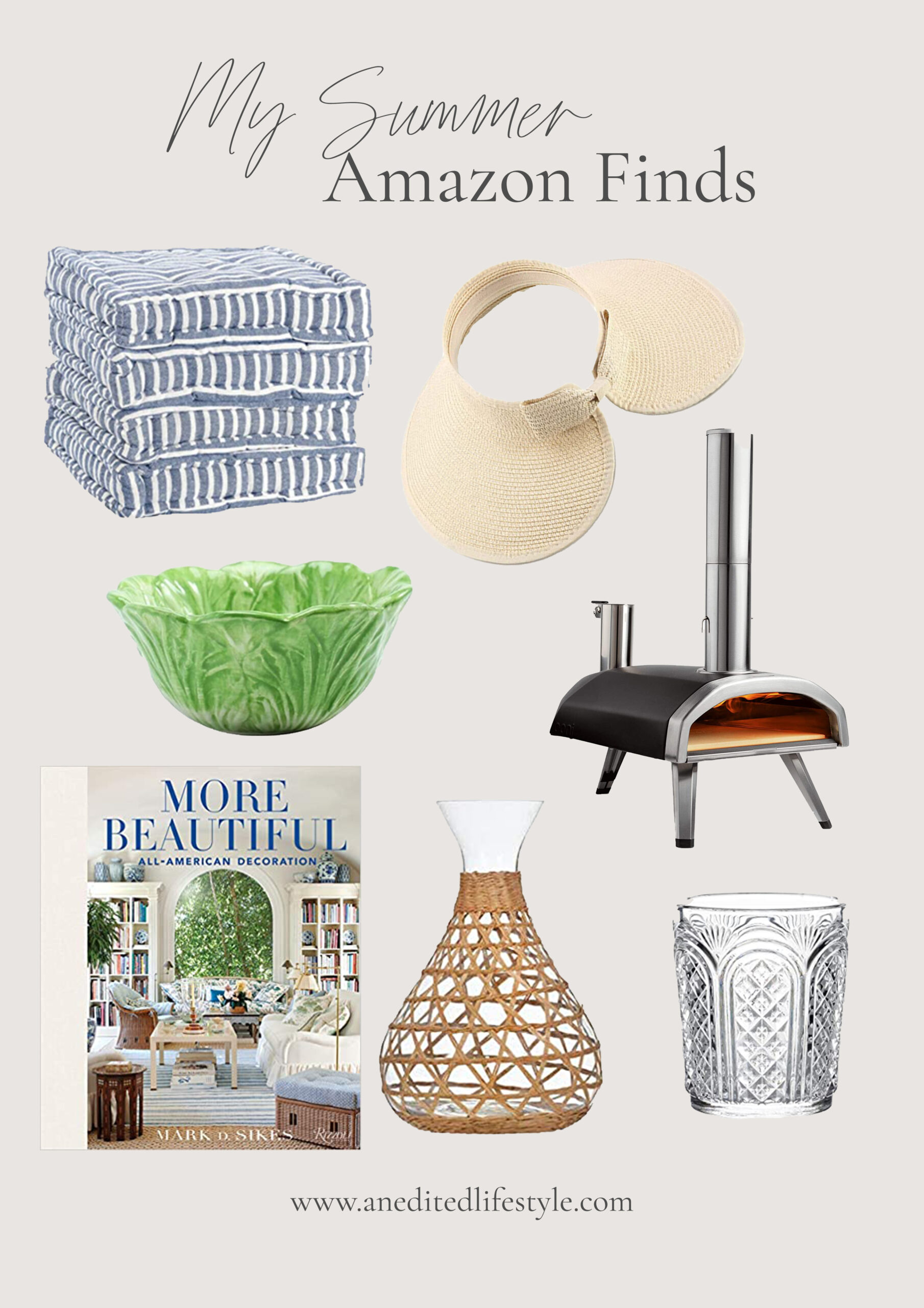 an edited lifestyle summer amazon finds