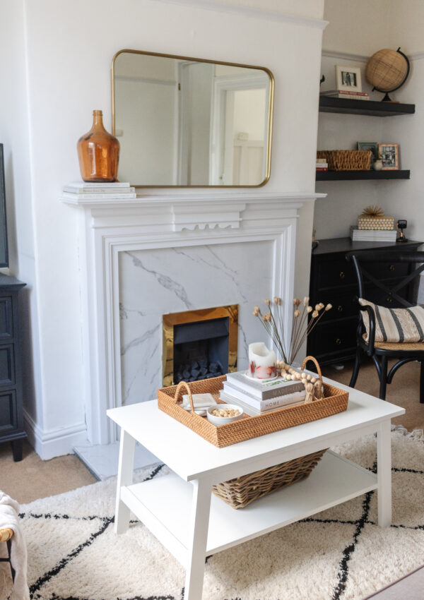 an edited lifestyle interiors decorate around a focal point