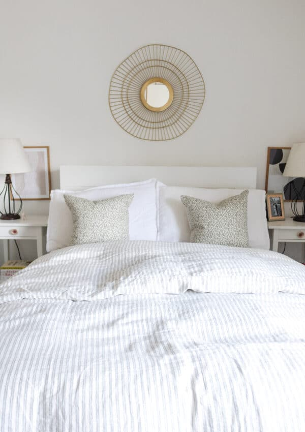 an edited lifestyle interiors decorating the area above your bed