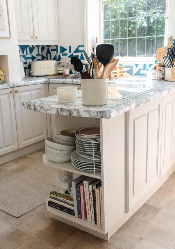 an edited lifestyle interiors kitchen island styling