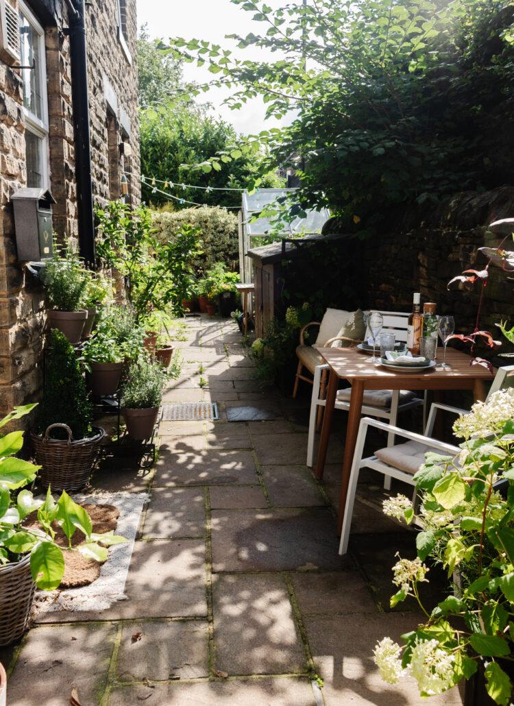 an edited lifestyle garden backyard makeover