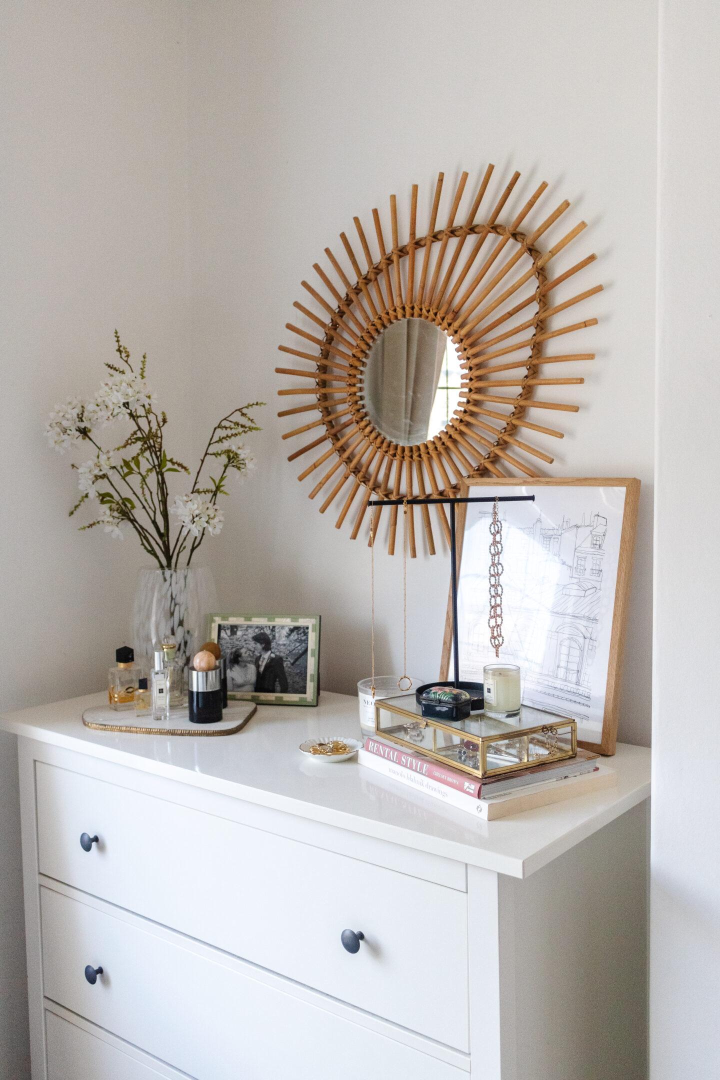 an edited lifestyle interiors bedroom organisation