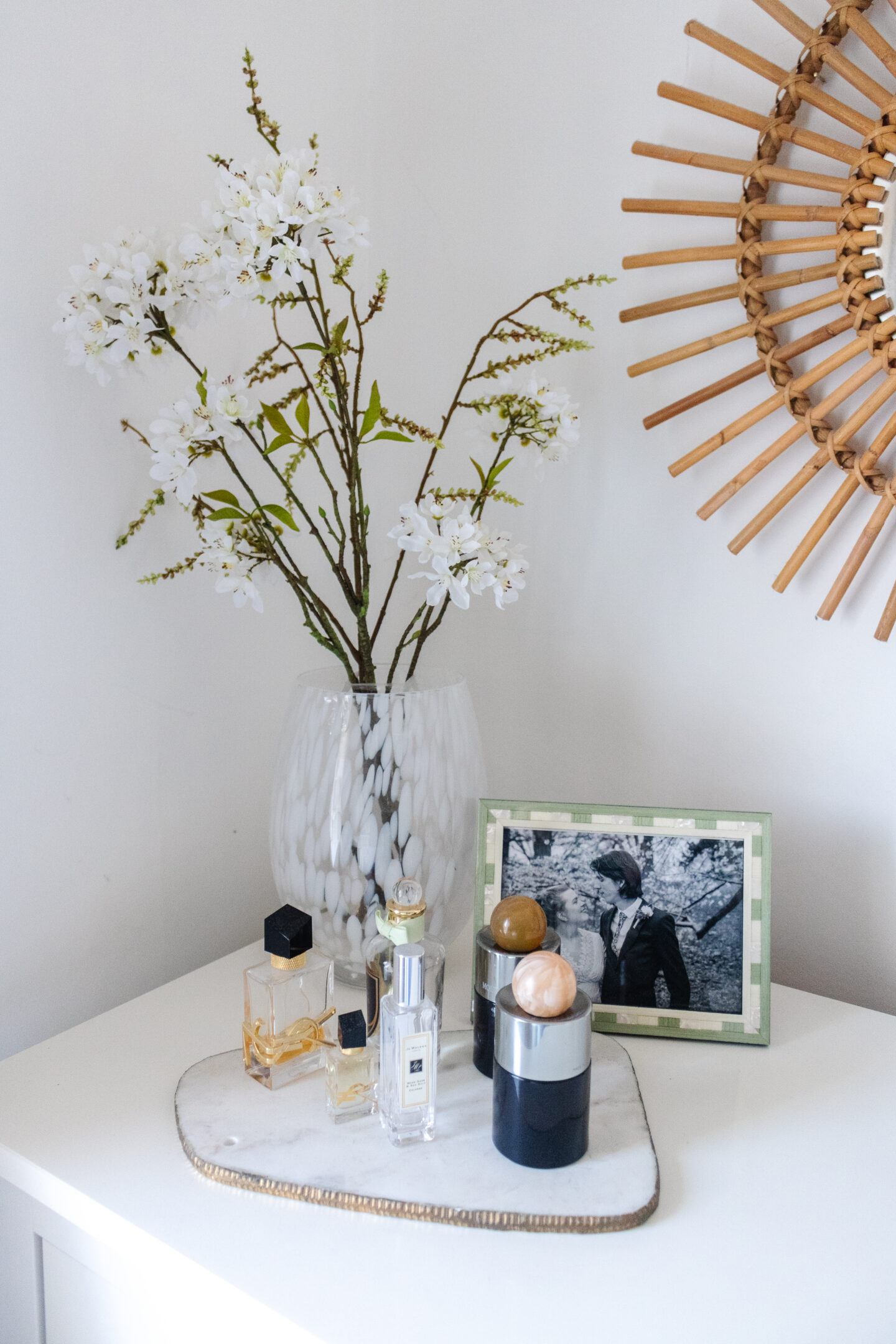 an edited lifestyle interiors small bedroom styling