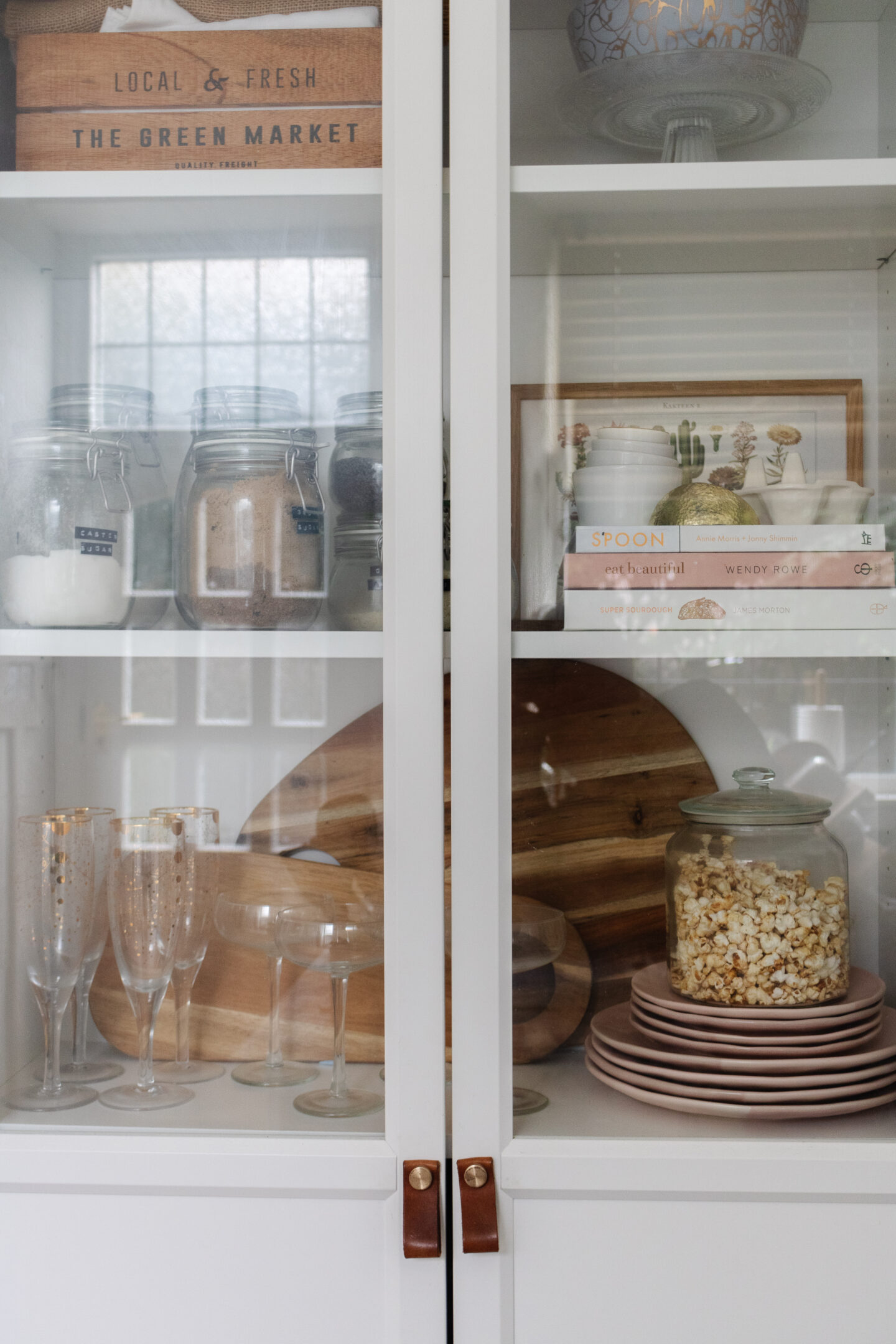an edited lifestyle interiors how to style glass cabinets