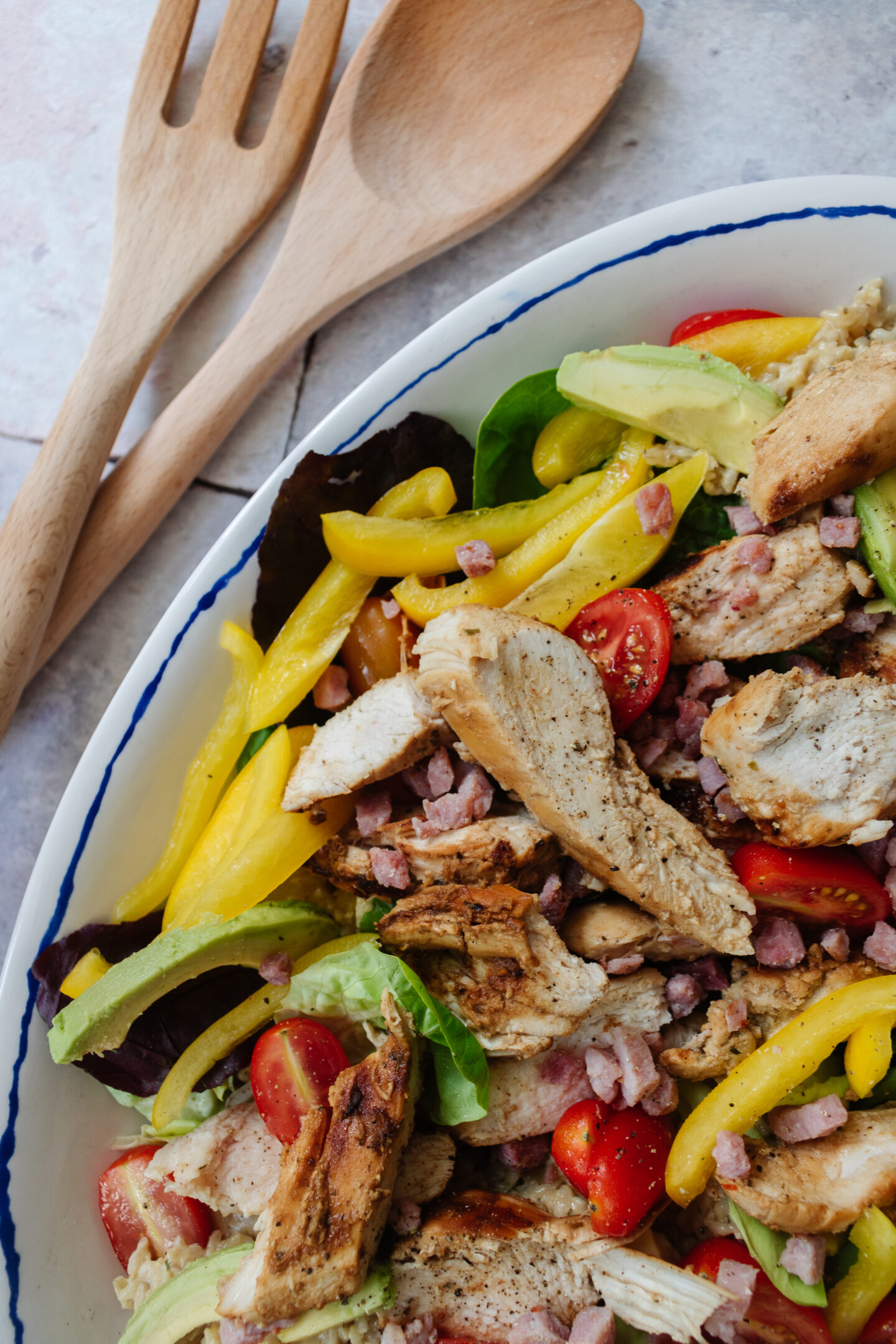 an edited lifestyle recipes grilled lemon chicken salad
