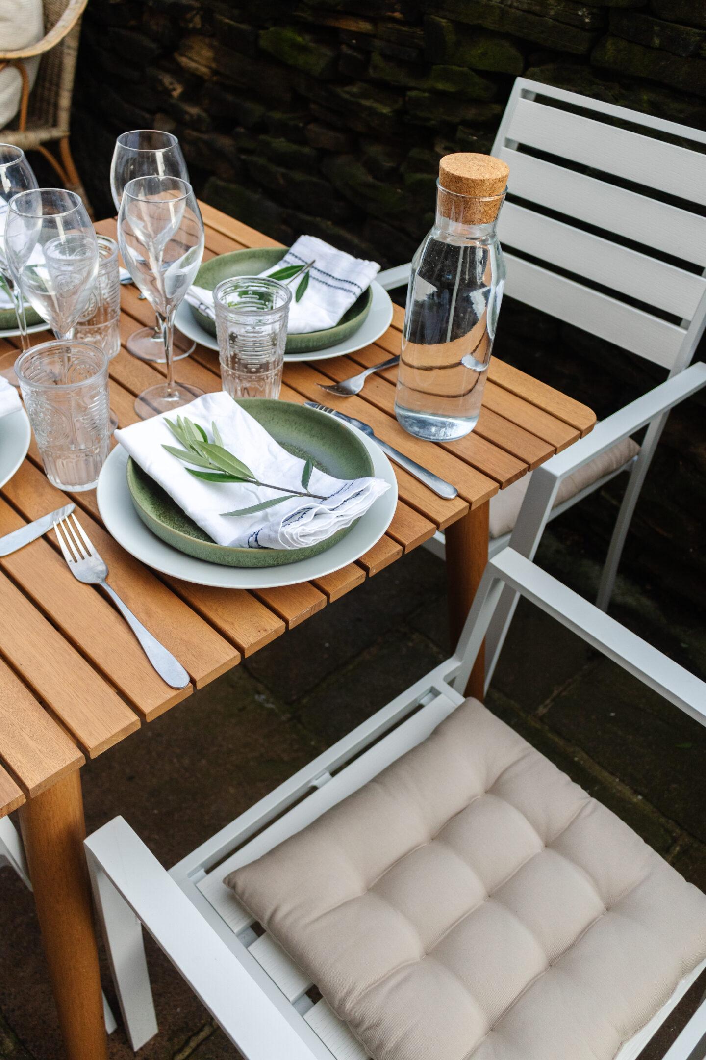 an edited lifestyle entertain alfresco dining