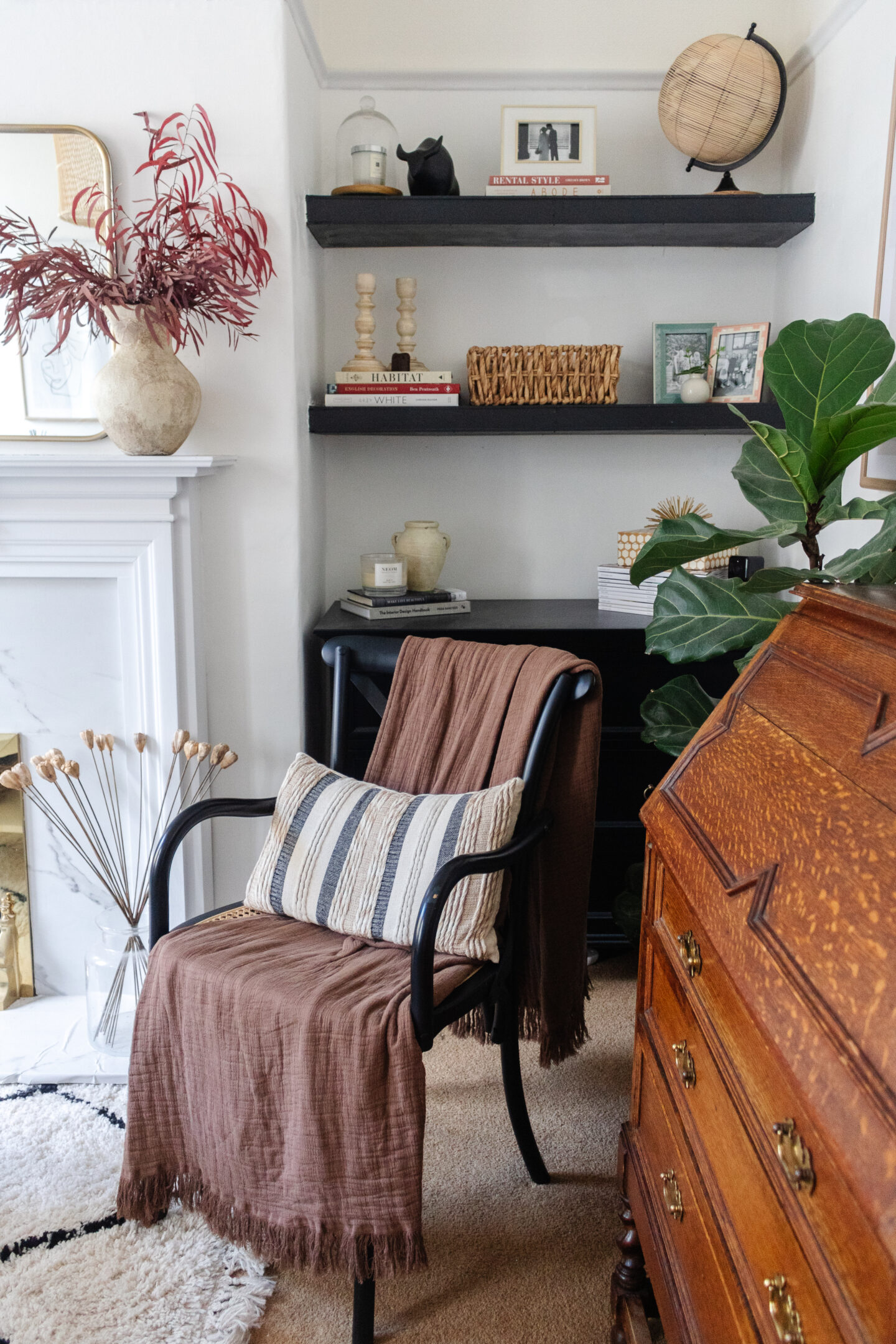 an edited lifestyle interiors small living room