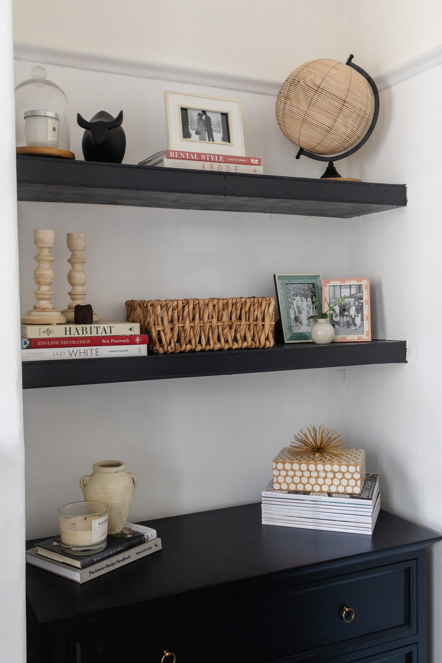 an edited lifestyle interiors style built-ins